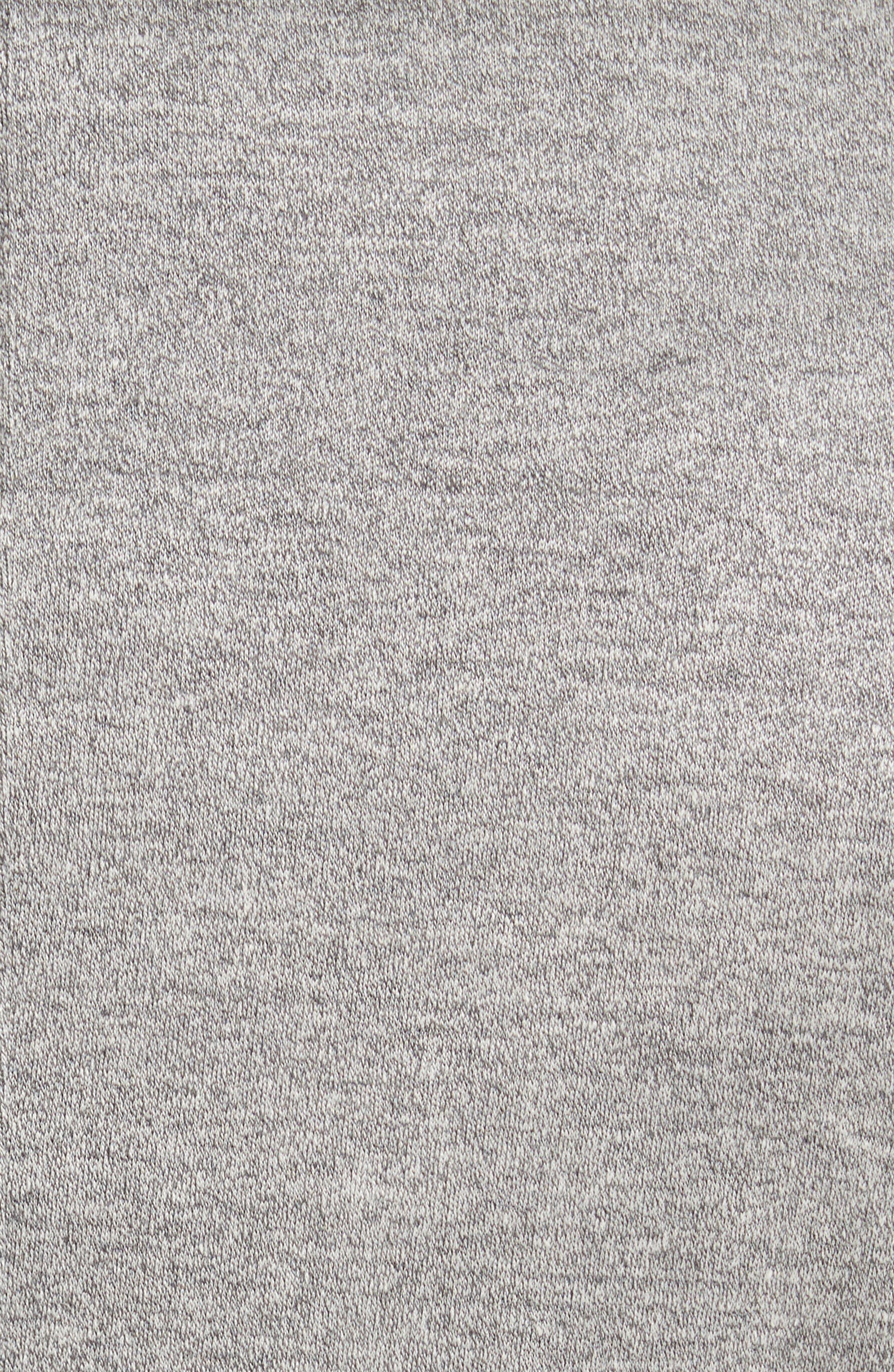 Trim Fit Washed Jersey Jacket,                             Alternate thumbnail 5, color,                             Light Grey