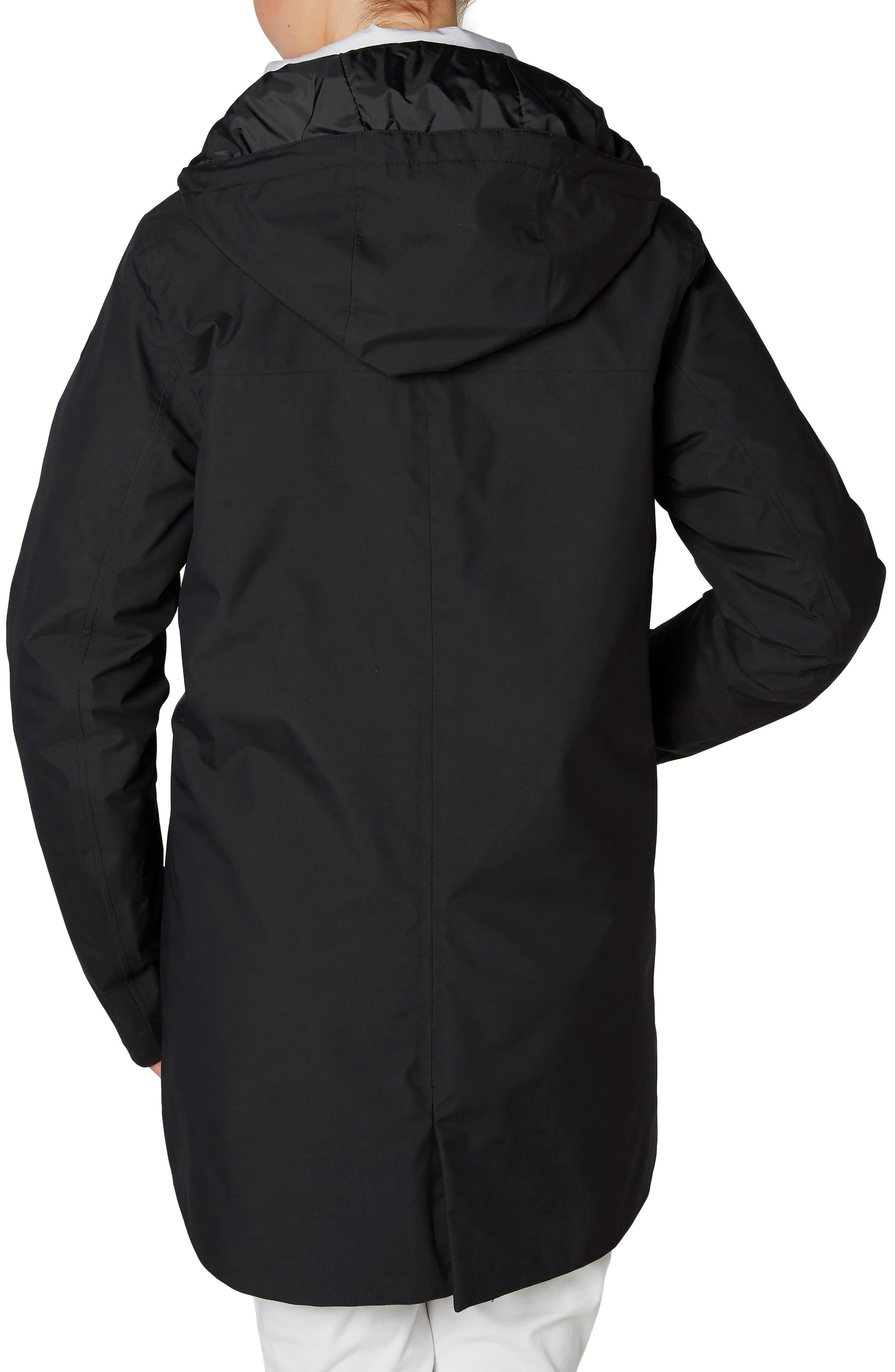 Waterford Weatherproof Hooded Parka,                             Alternate thumbnail 2, color,                             Black