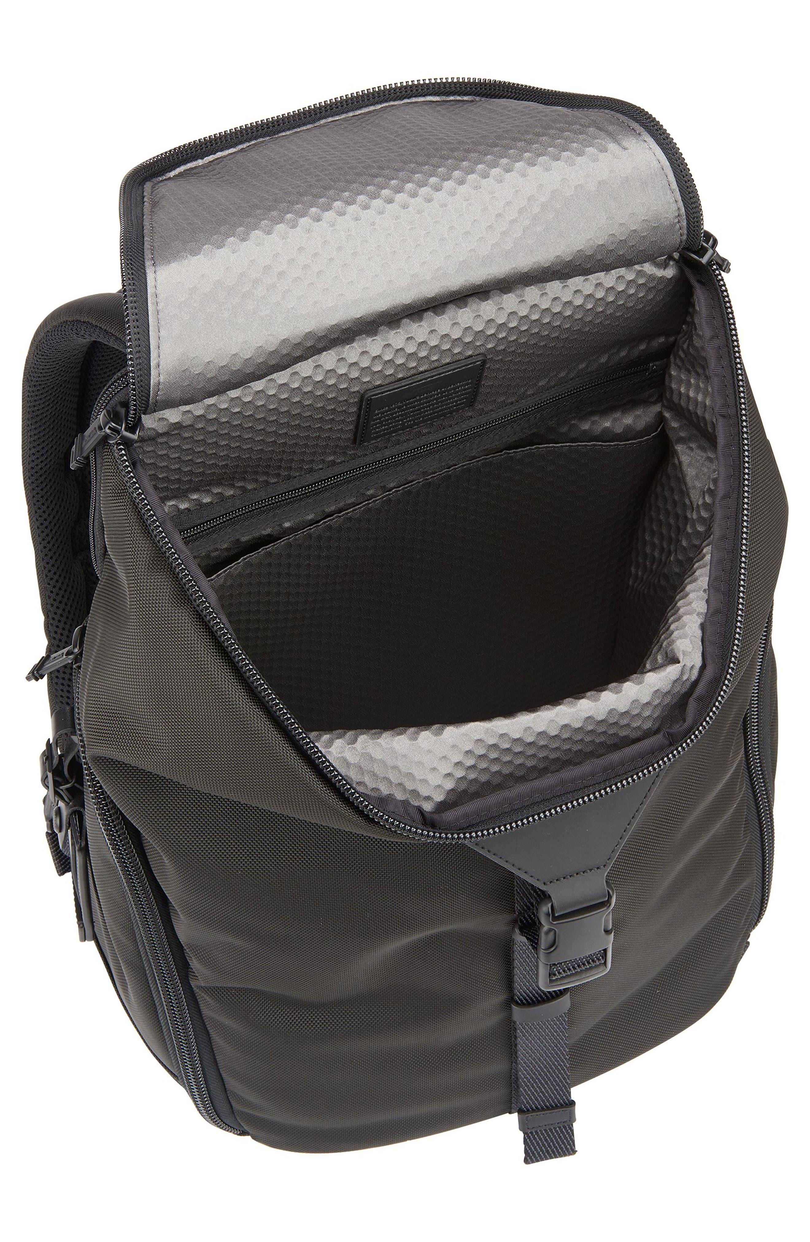 Alpha Bravo - Willow Backpack,                             Alternate thumbnail 3, color,                             Black