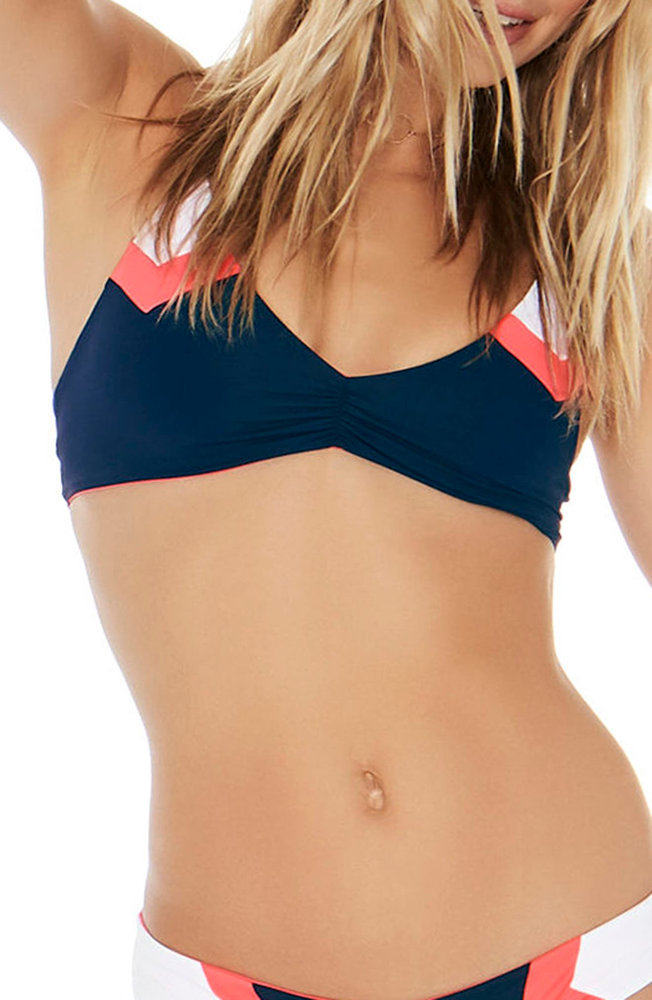 L Space 'Haley' Reversible Bikini Top