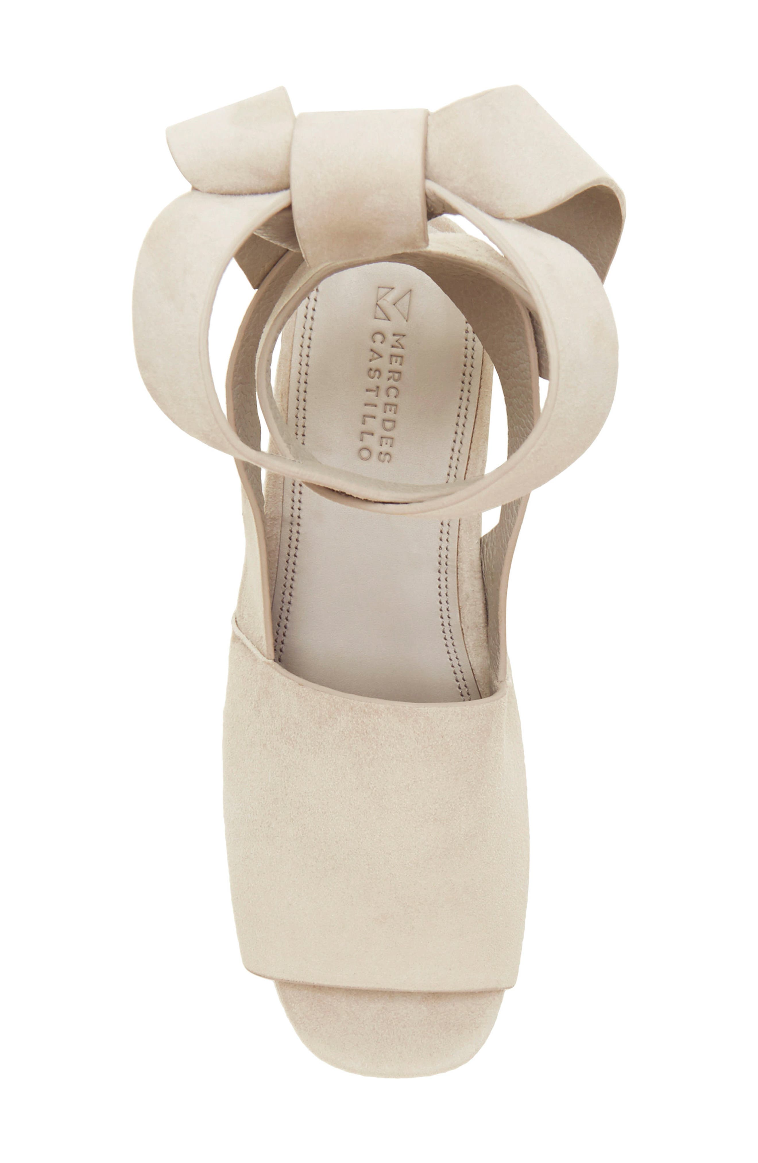 Alternate Image 3  - Mercedes Castillo Darea Ankle Tie Platform Sandal (Women)