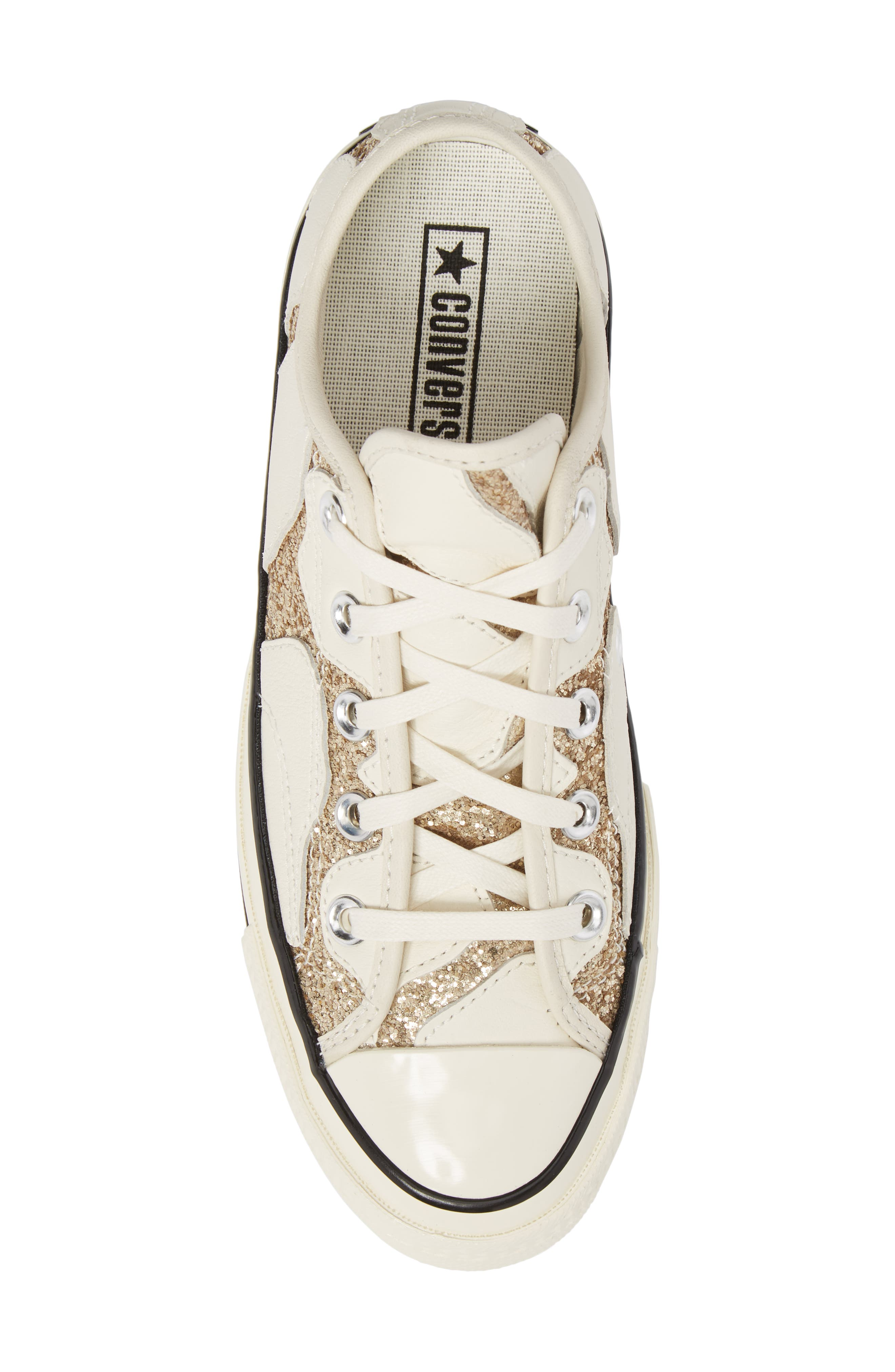 Alternate Image 5  - Converse Chuck Taylor® All Star® Animal Glitter Low Top Sneaker (Women)