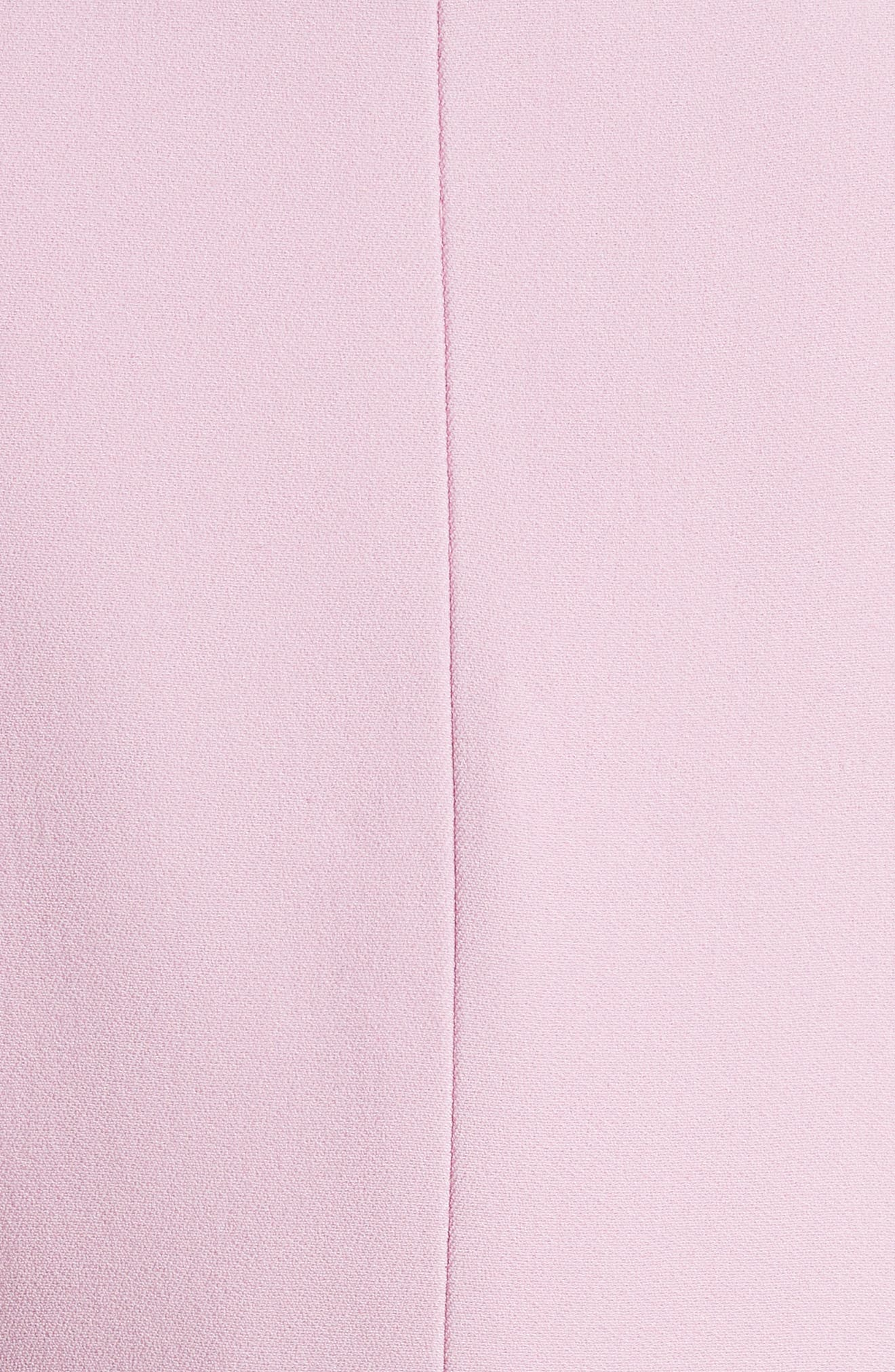 Crepe Blazer,                             Alternate thumbnail 5, color,                             Pink