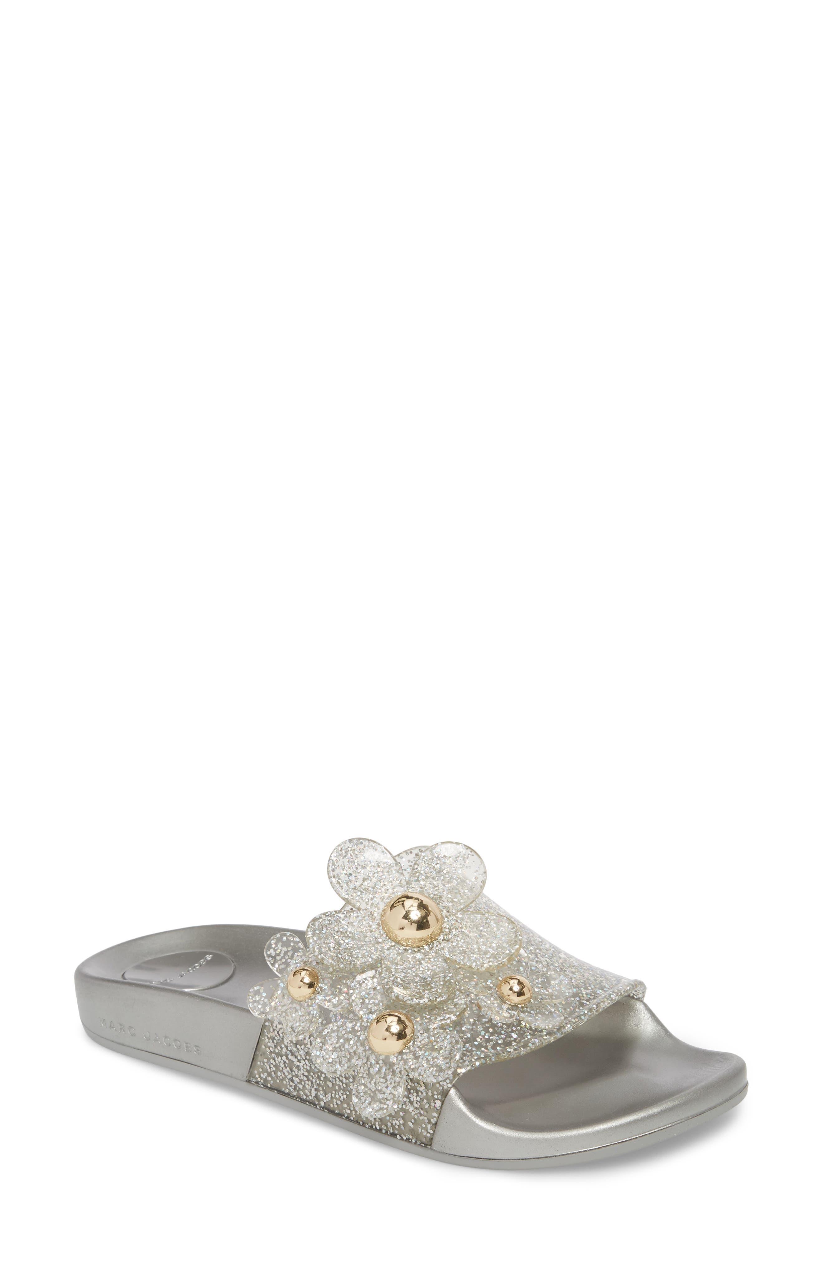 Women's Daisy Aqua Slide Sandal