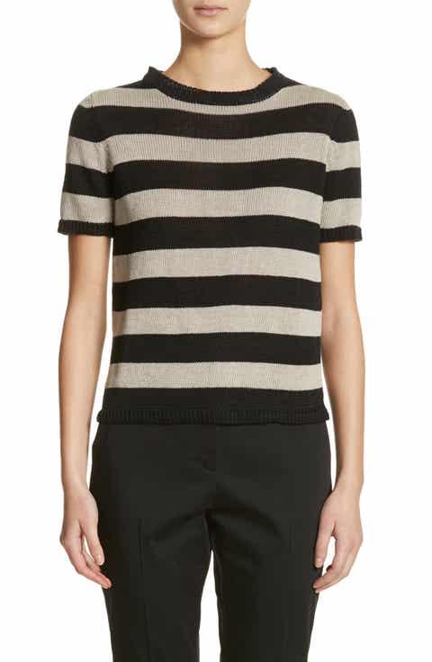 Max Mara Filly Stripe Linen Sweater