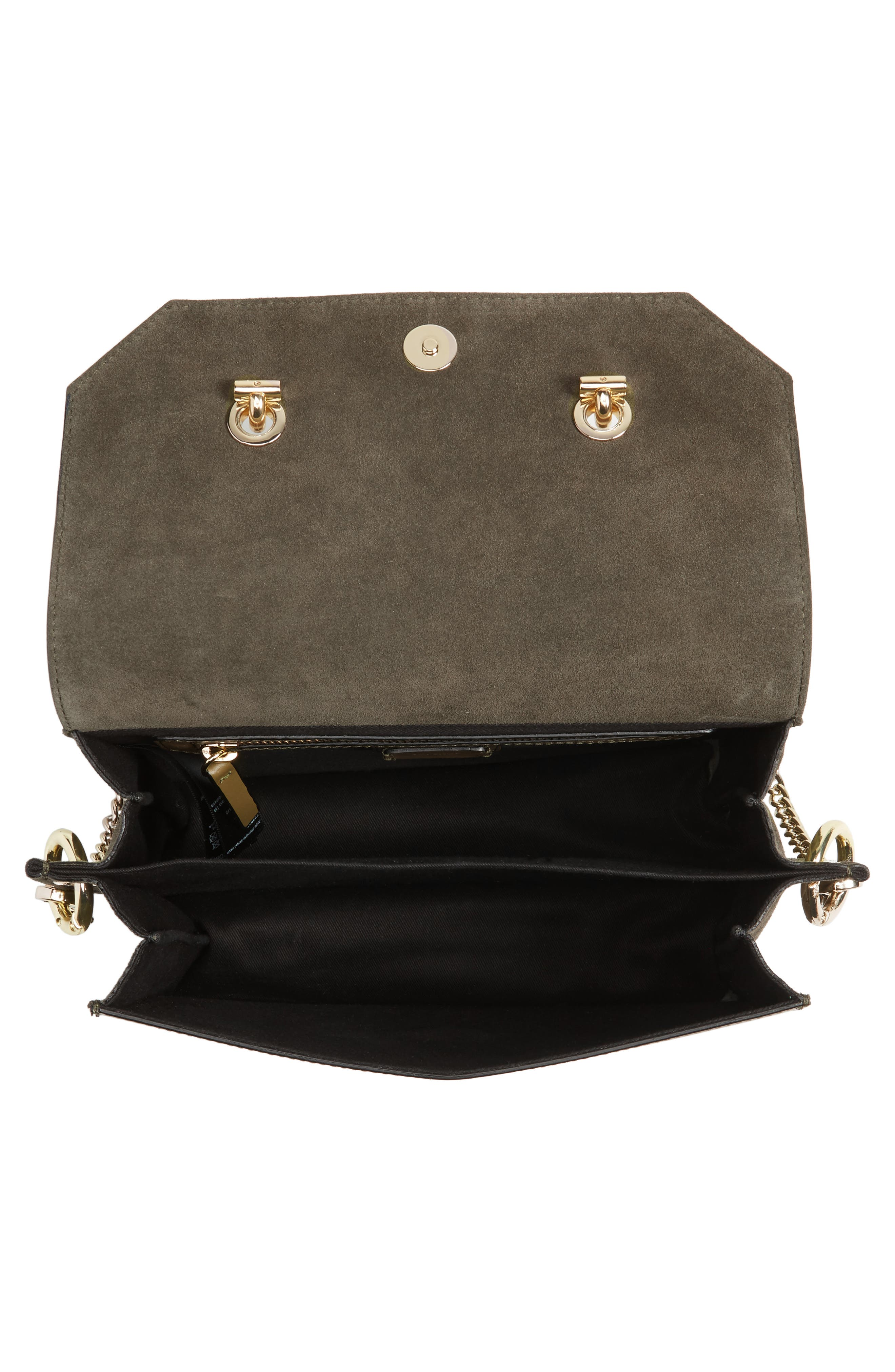 Alternate Image 5  - Topshop Premium Leather & Suede Soko Shoulder Bag