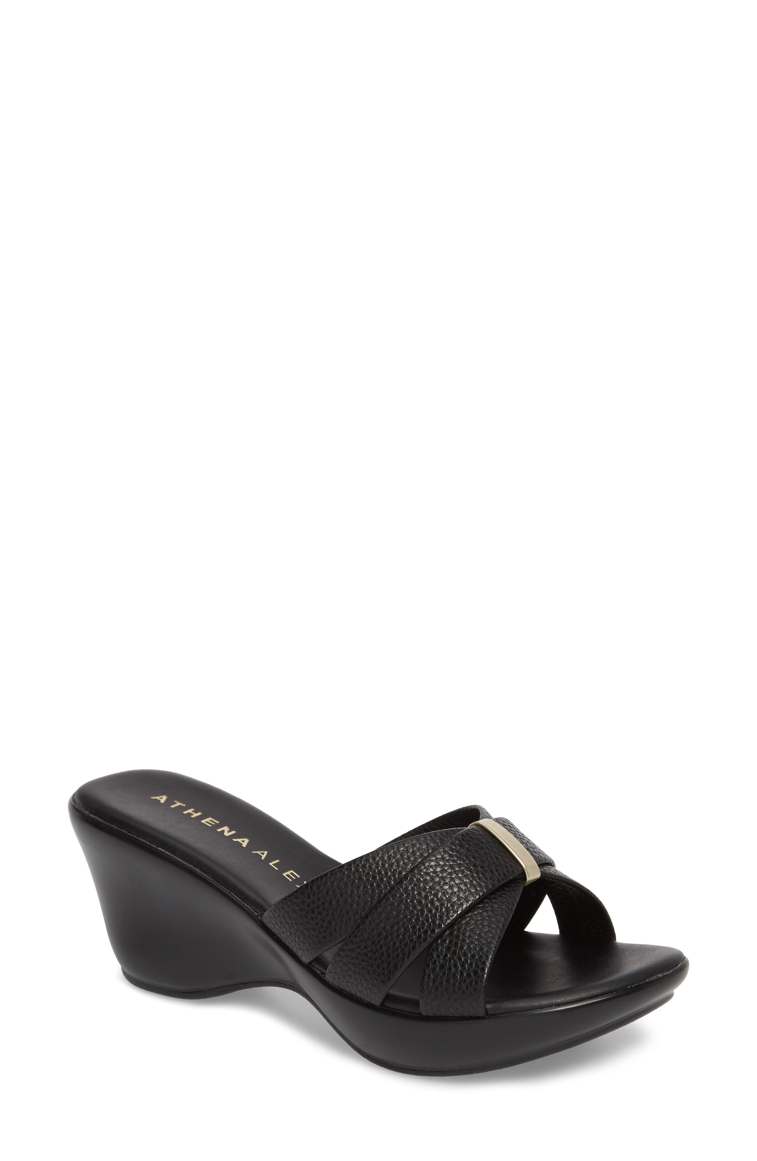 Athena Alexander Serra Wedge Slide Sandal (Women)