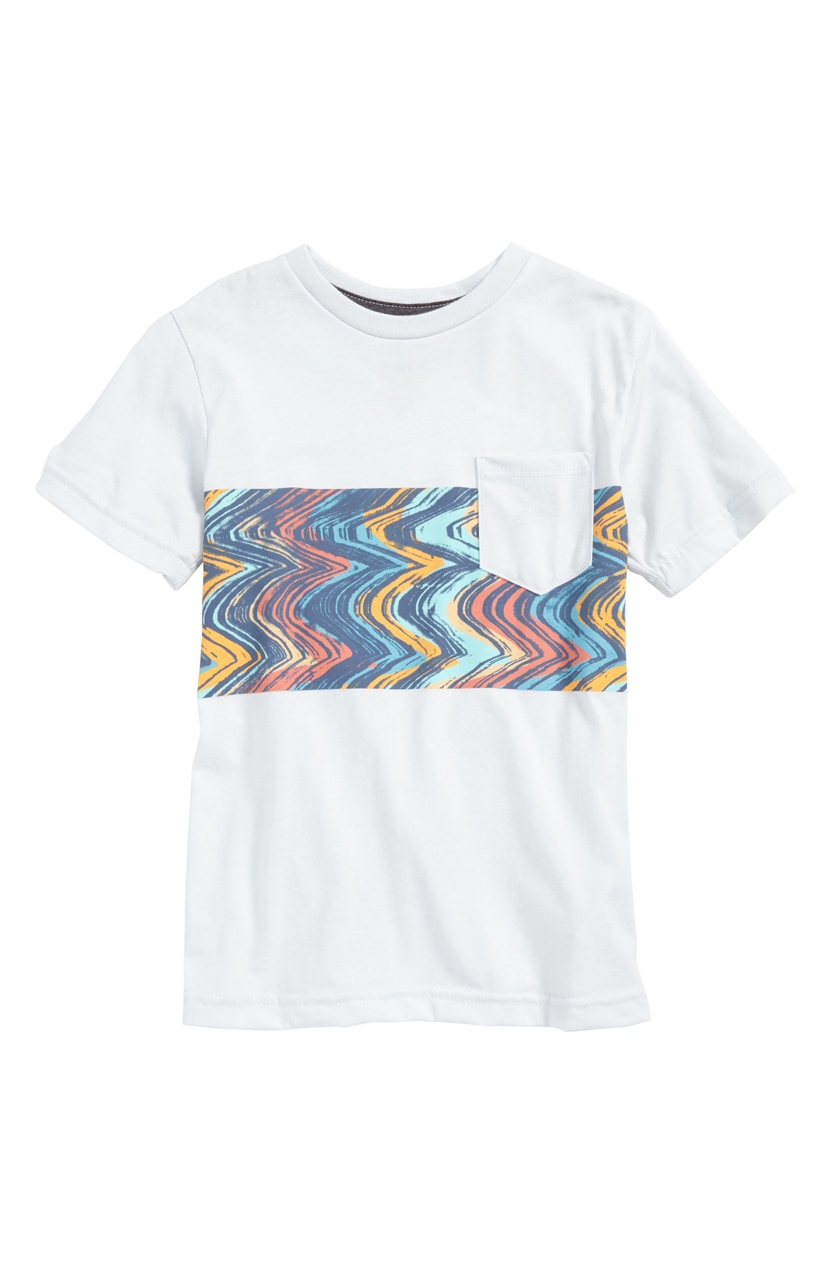 Alternate Image 1 Selected - Volcom Lo-Fi Colorblock Pocket T-Shirt (Toddler Boys & Little Boys)