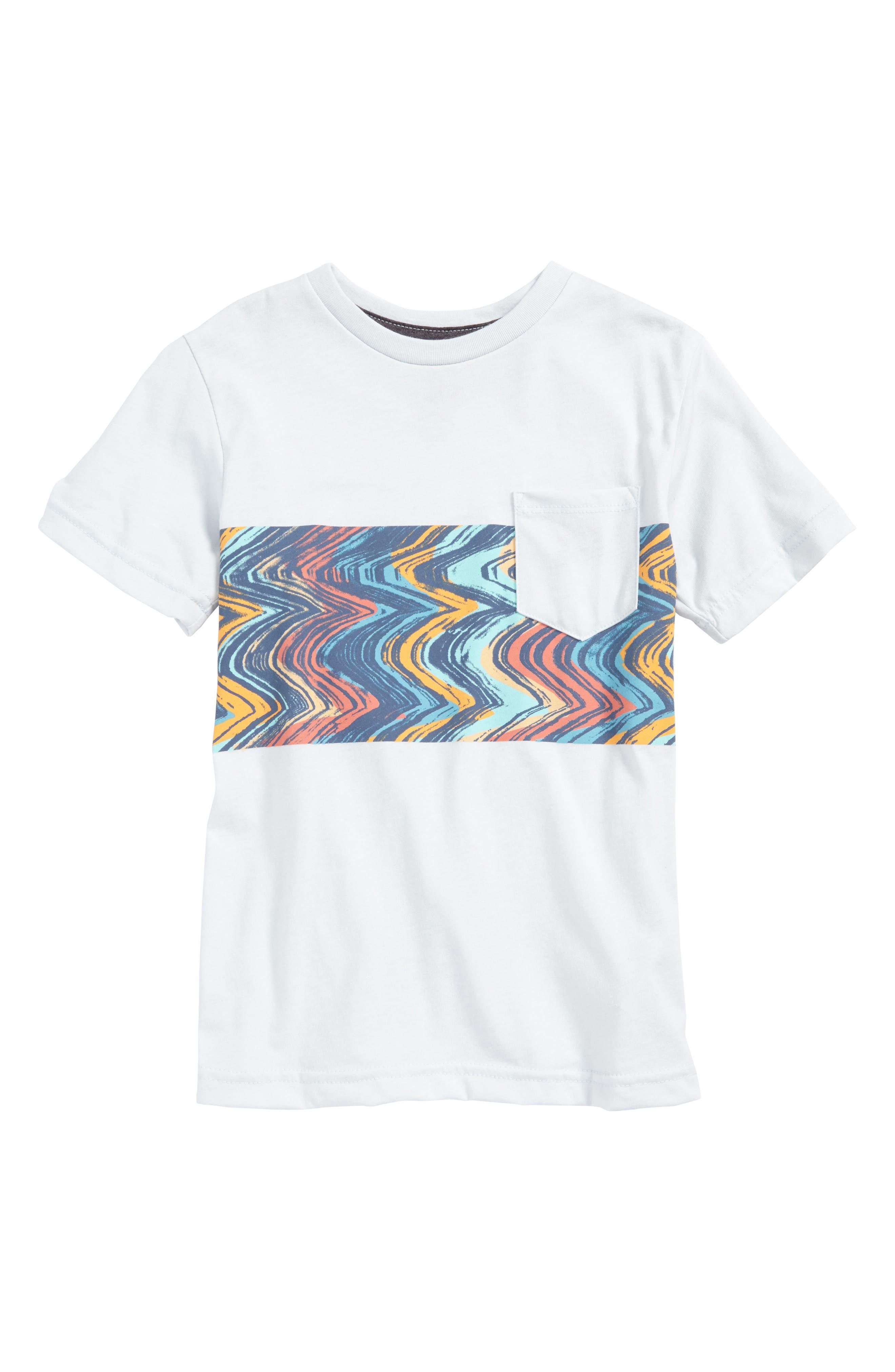 Volcom Lo-Fi Colorblock Pocket T-Shirt (Toddler Boys & Little Boys)