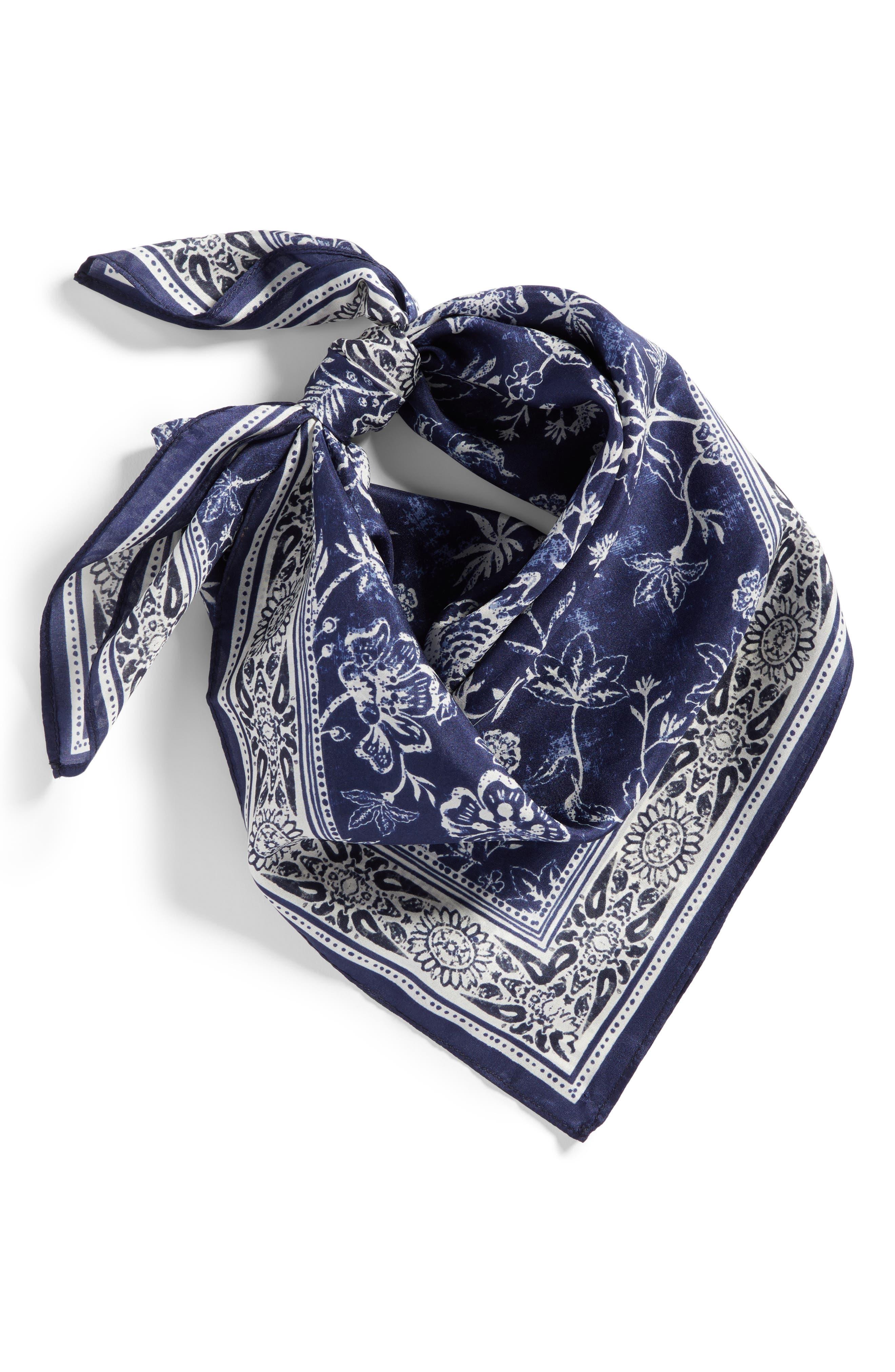 Alternate Image 2  - Treasure & Bond Print Silk Neckerchief