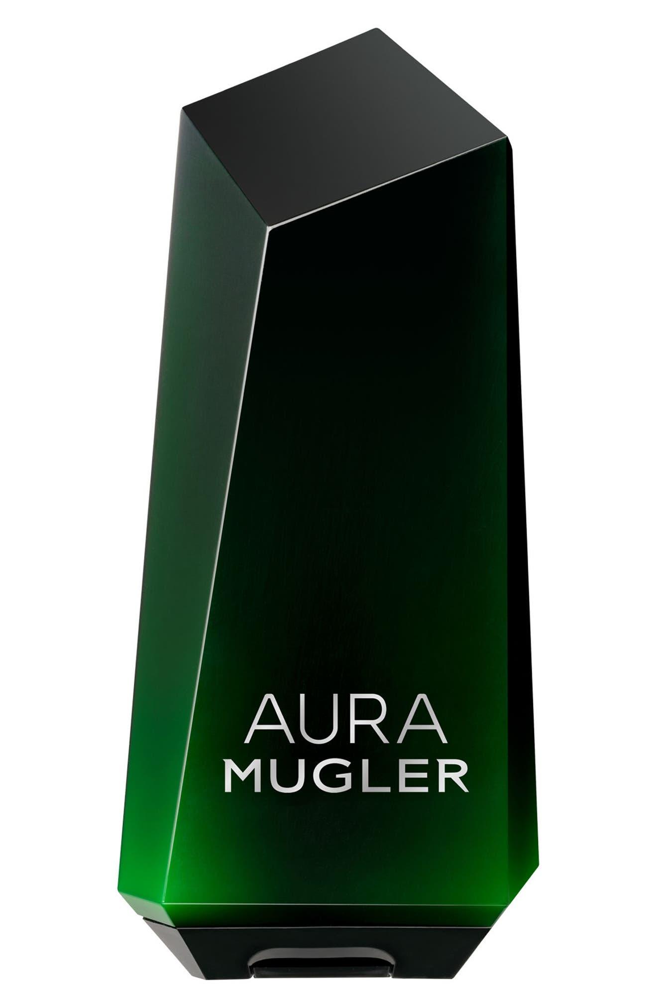 Aura Mugler Shower Milk,                         Main,                         color, No Color