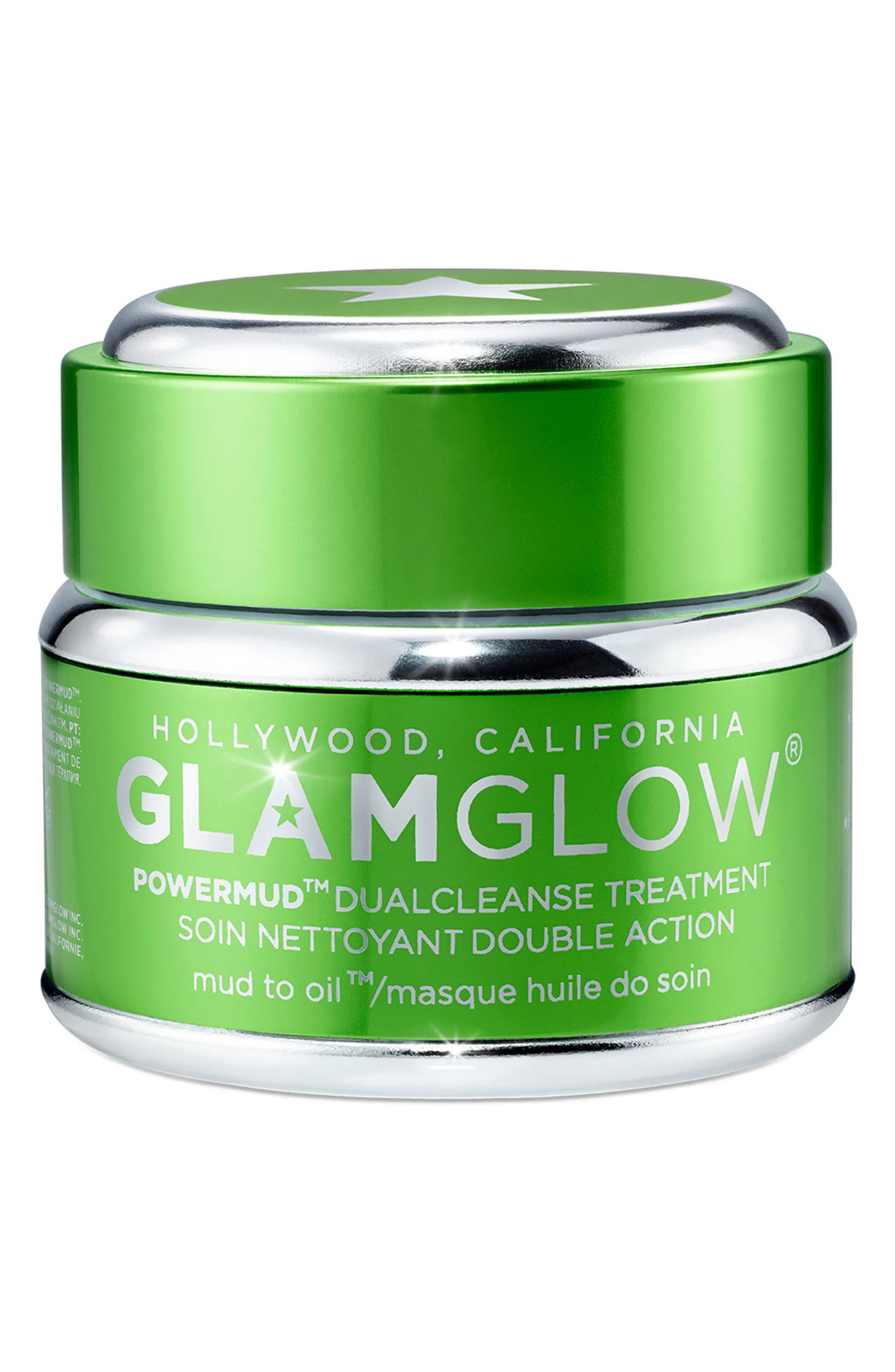 Alternate Image 1 Selected - GLAMGLOW® POWERMUD™ Dual Cleanse Treatment