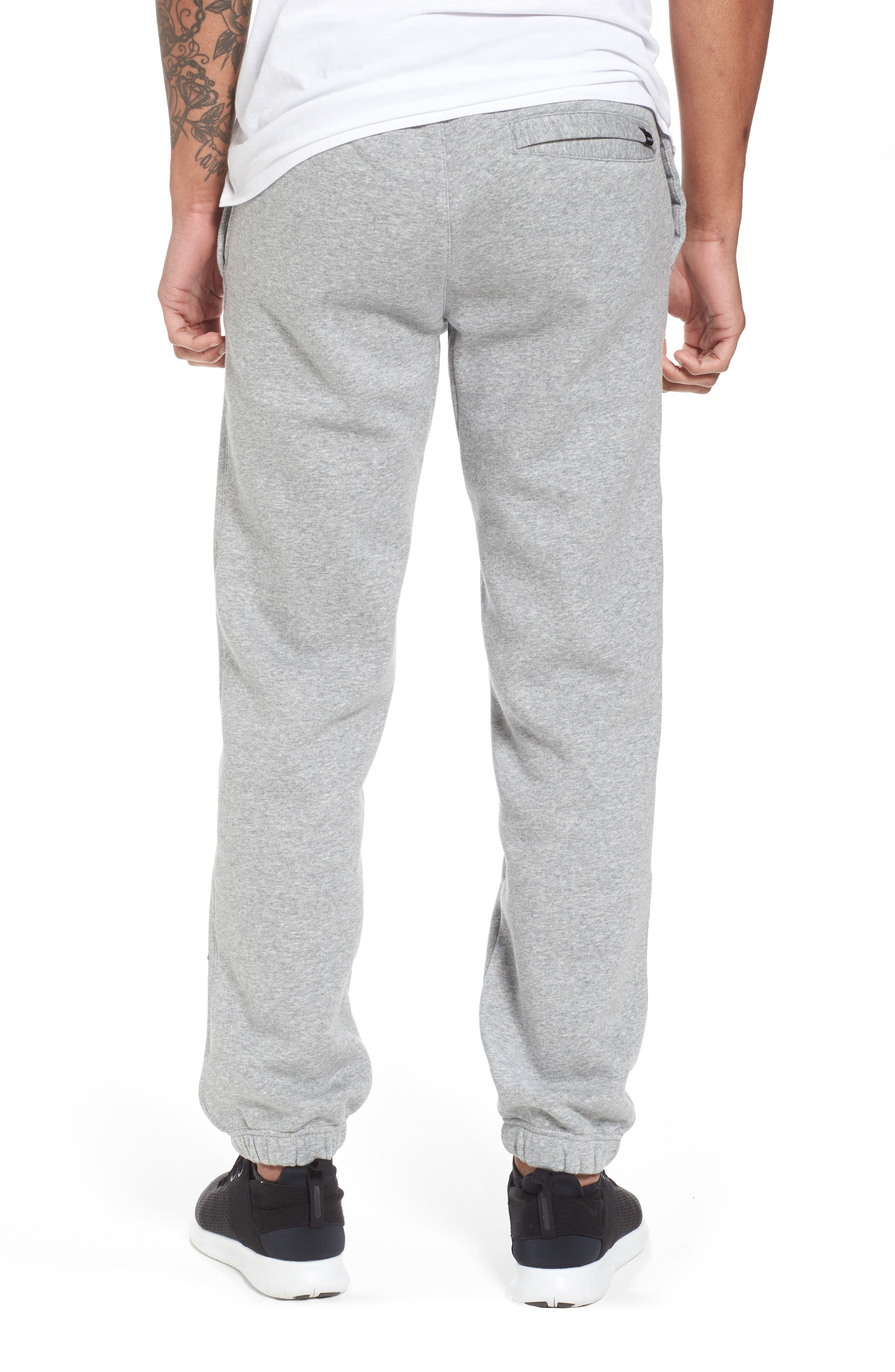 Icon Fleece Pants,                             Alternate thumbnail 2, color,                             Dark Steel Grey