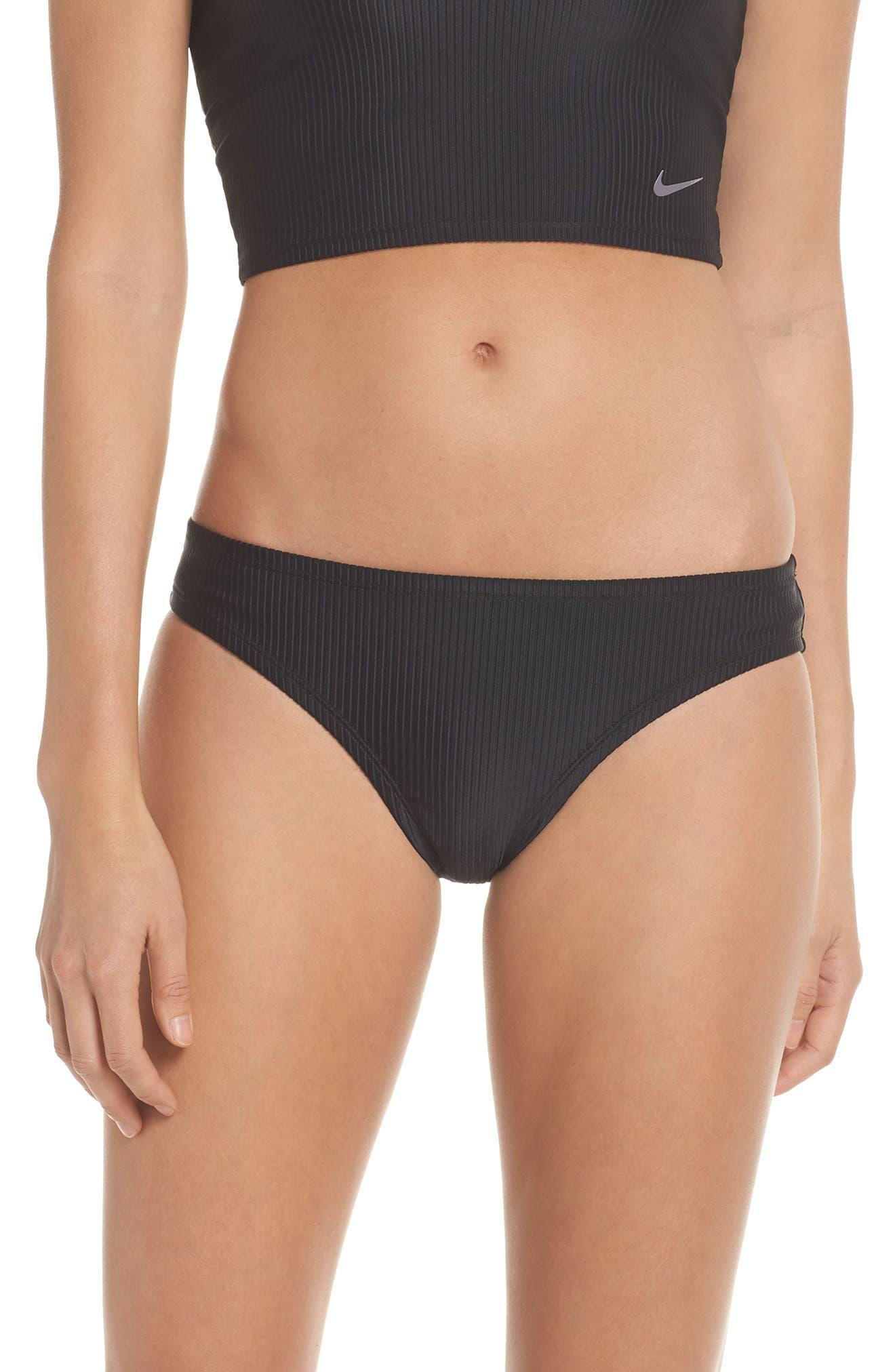 Bikini Bottoms,                             Main thumbnail 1, color,                             Black