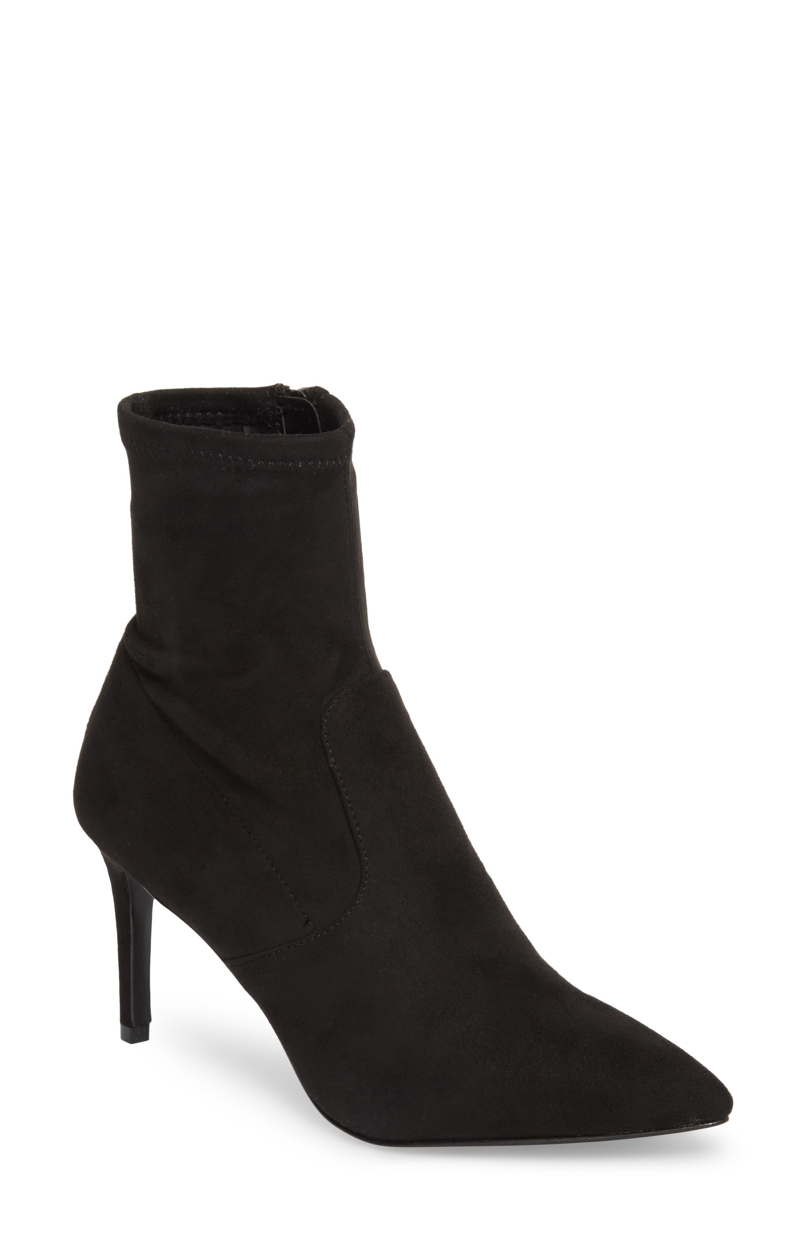 Lava Sock Bootie,                         Main,                         color, Black