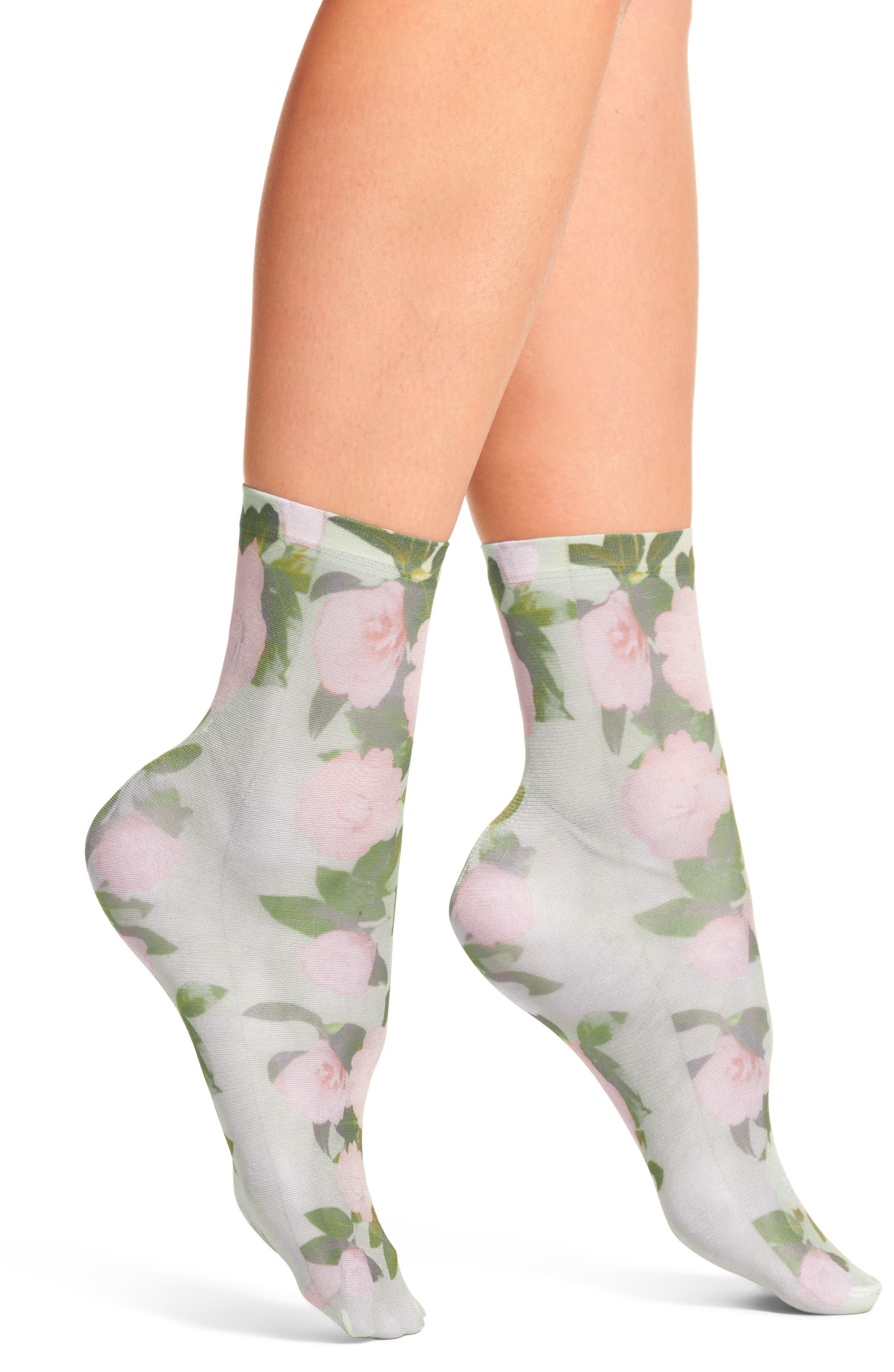 Damiana Ankle Socks,                         Main,                         color, Blue