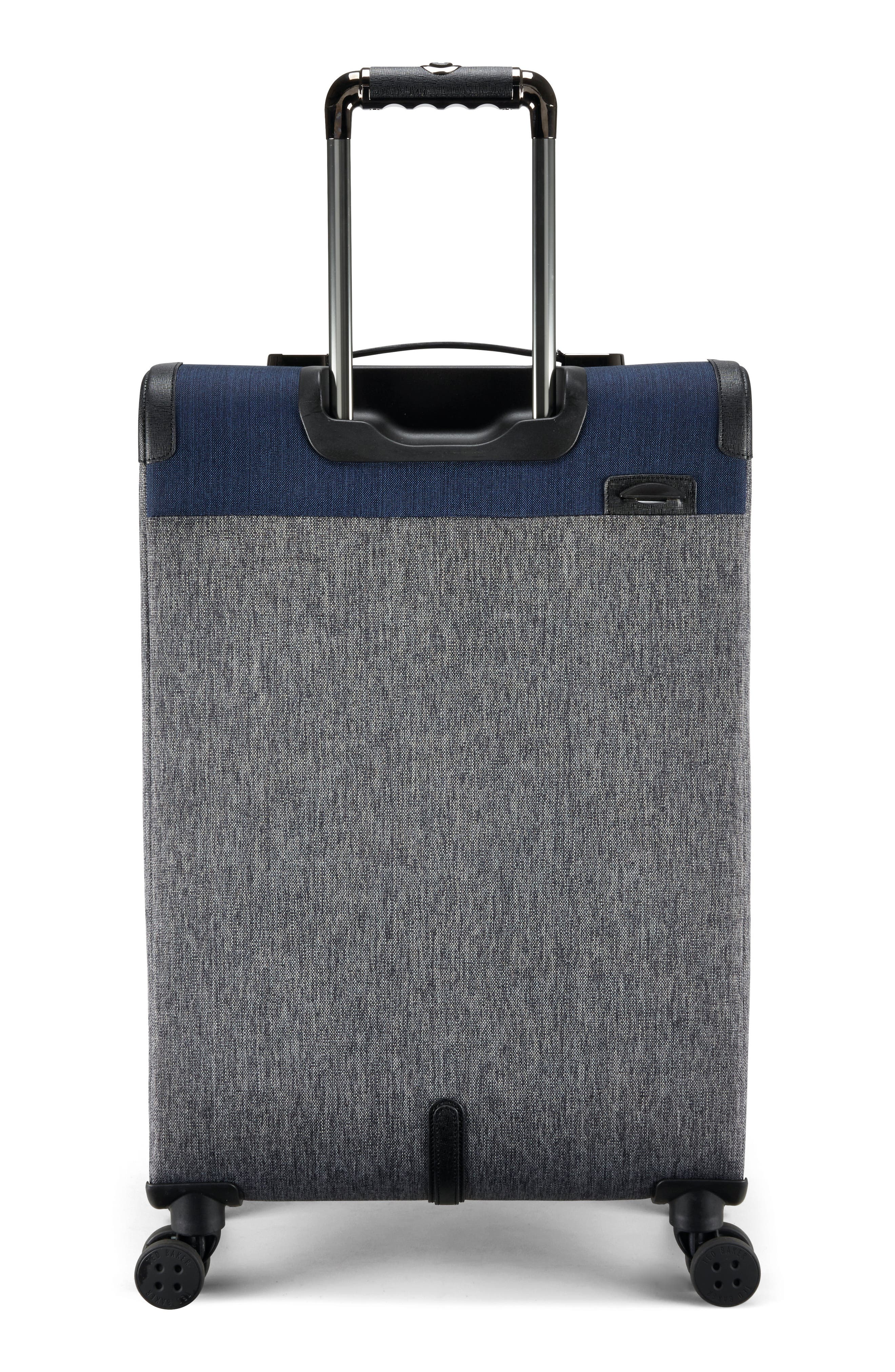 Brunswick 27-Inch Rolling Suitcase,                             Alternate thumbnail 2, color,                             Grey