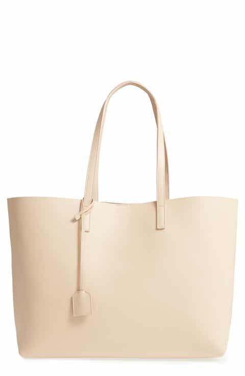 Saint Laurent Ping Leather Tote