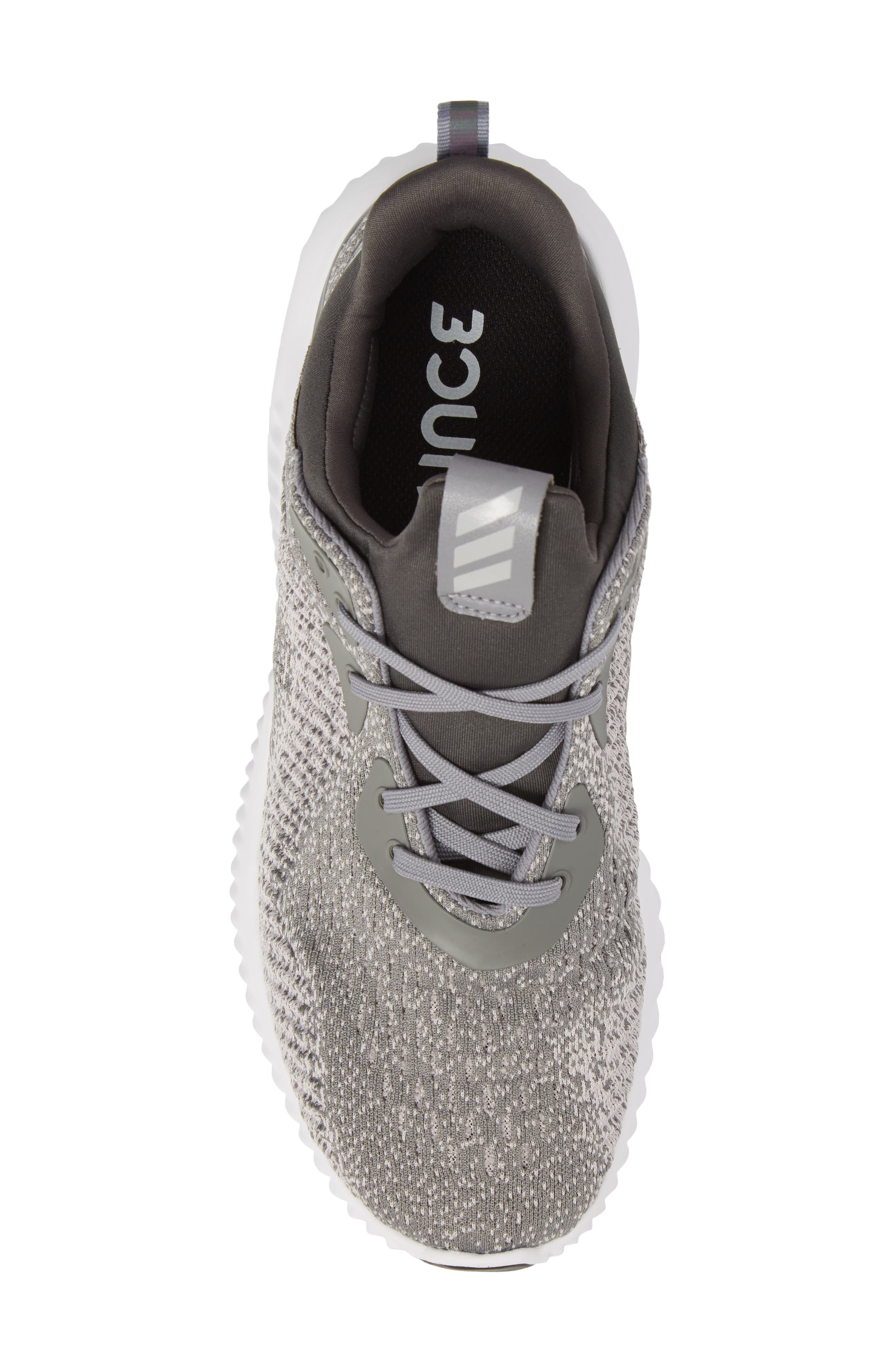 Alternate Image 5  - adidas AlphaBounce EM Sock Fit Running Shoe (Men)