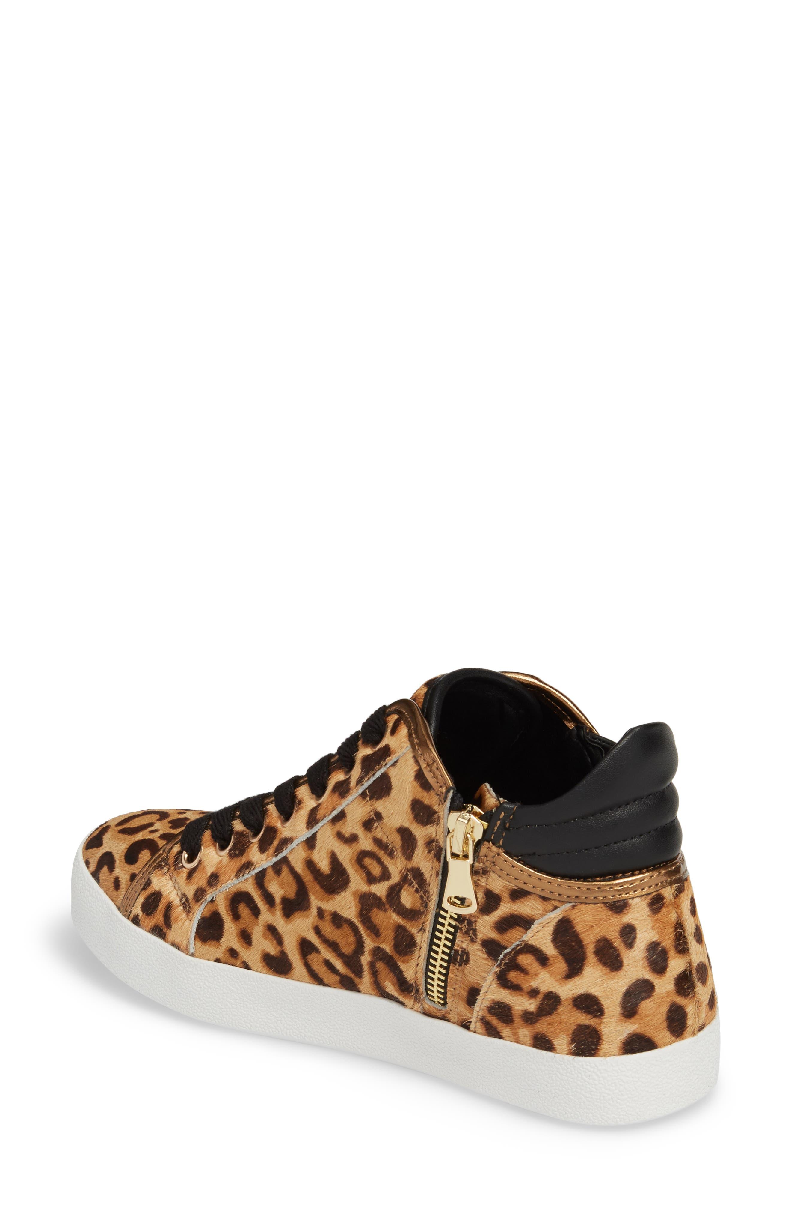 Savior Star Sneaker,                             Alternate thumbnail 2, color,                             Leopard Multi