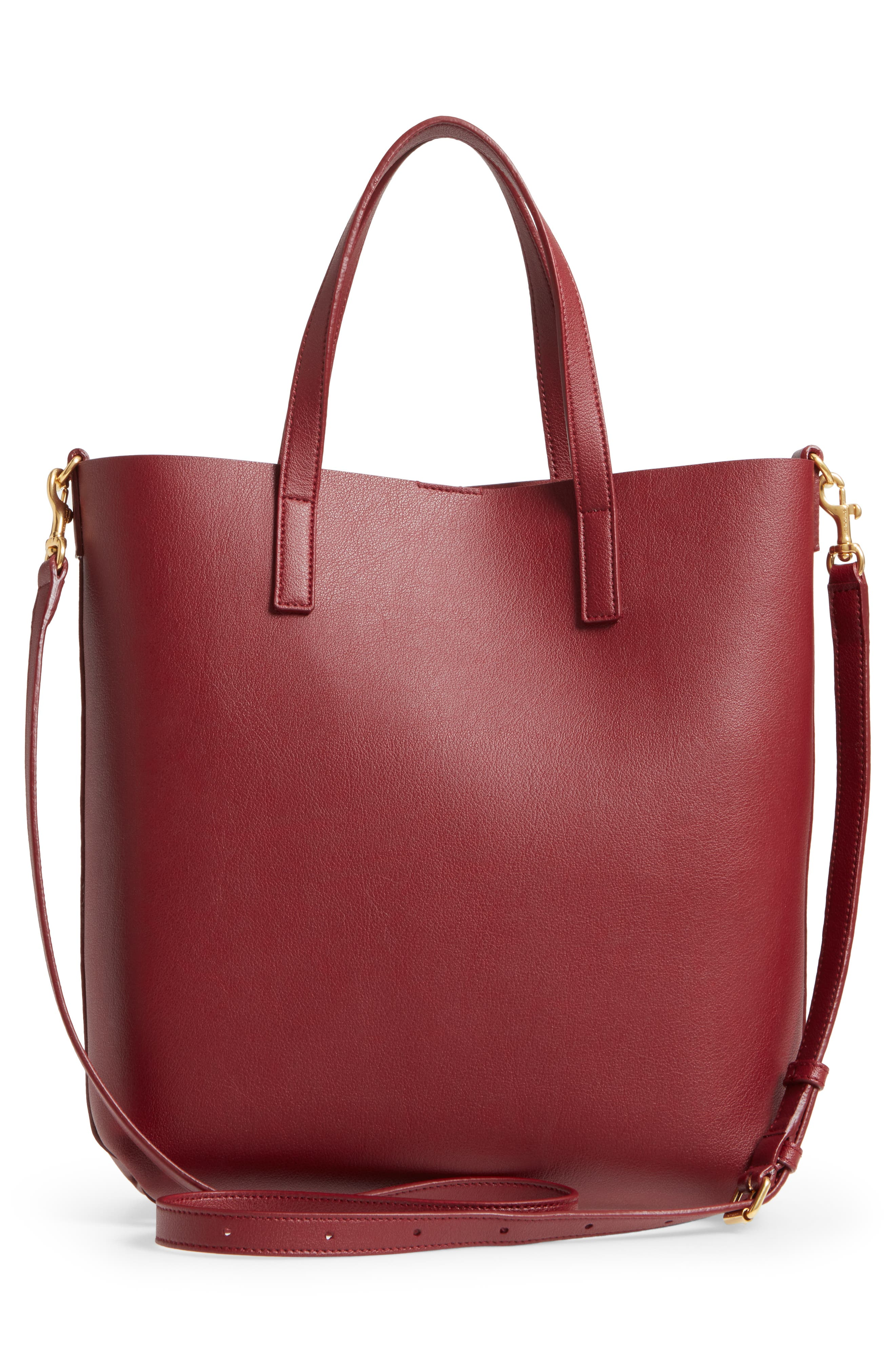 Alternate Image 3  - Saint Laurent Toy Shopping Leather Tote