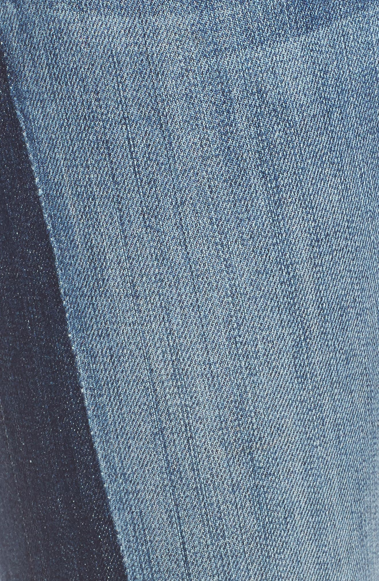 Reese Patch Jeans,                             Alternate thumbnail 7, color,                             Transforming