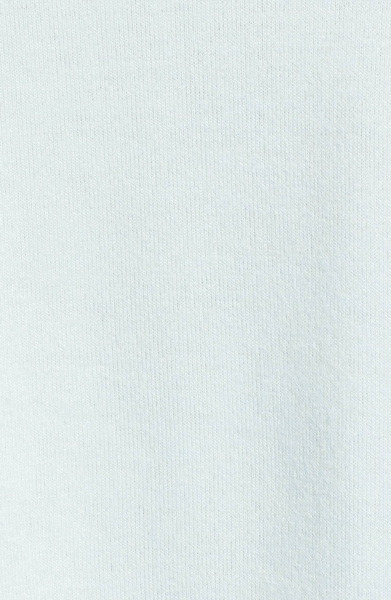 Alternate Image 5  - Cotton Emporium Cozy Crop Hoodie