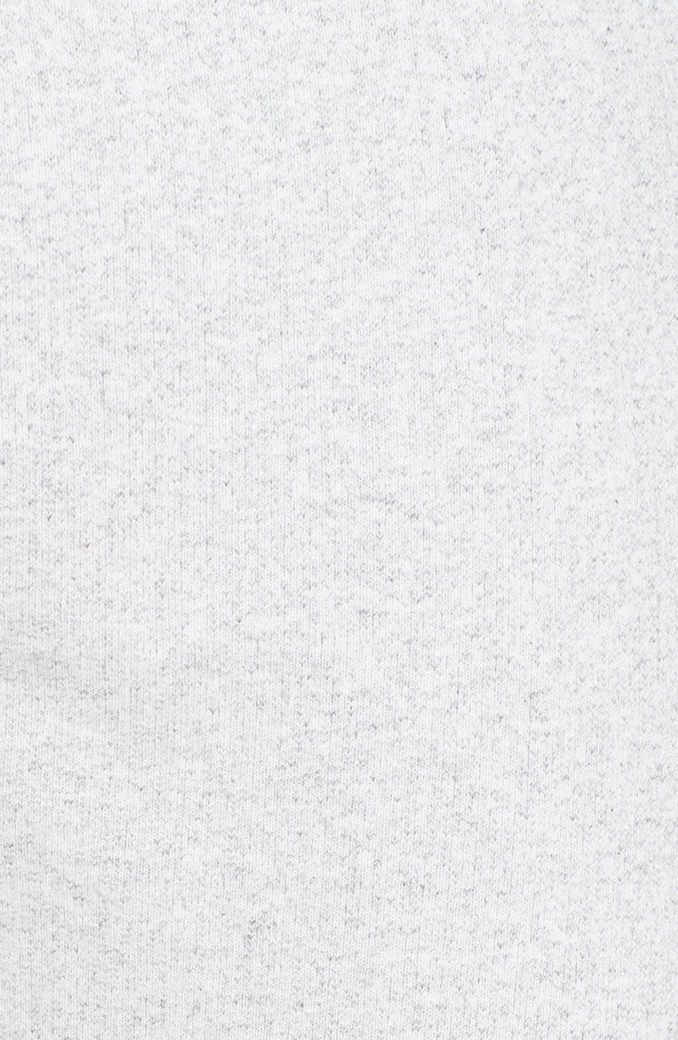 Slim Fit Heavyweight Sweatpants,                             Alternate thumbnail 5, color,                             Chalk