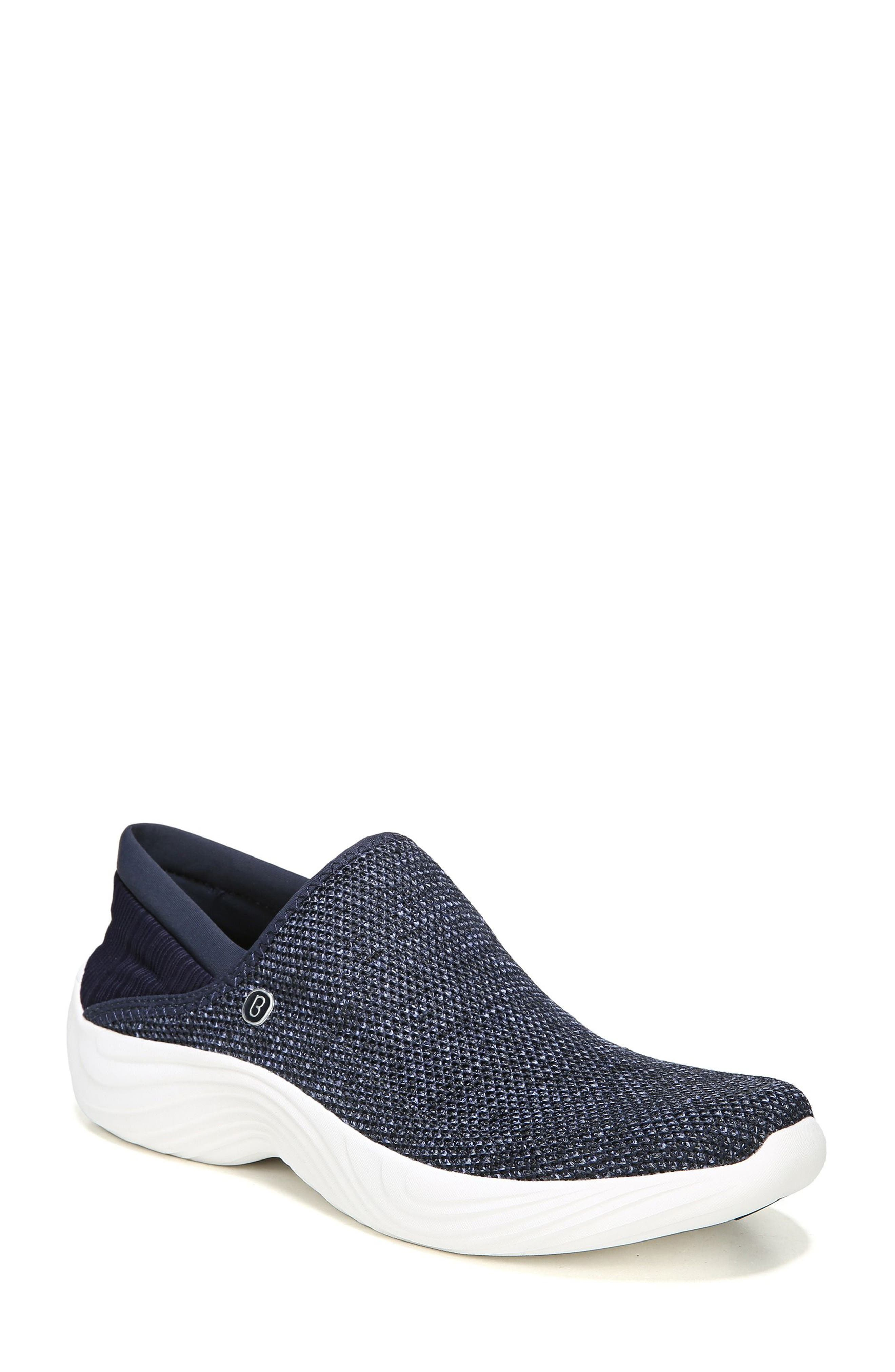 Topaz Slip-On Sneaker,                             Main thumbnail 1, color,                             Navy Fabric