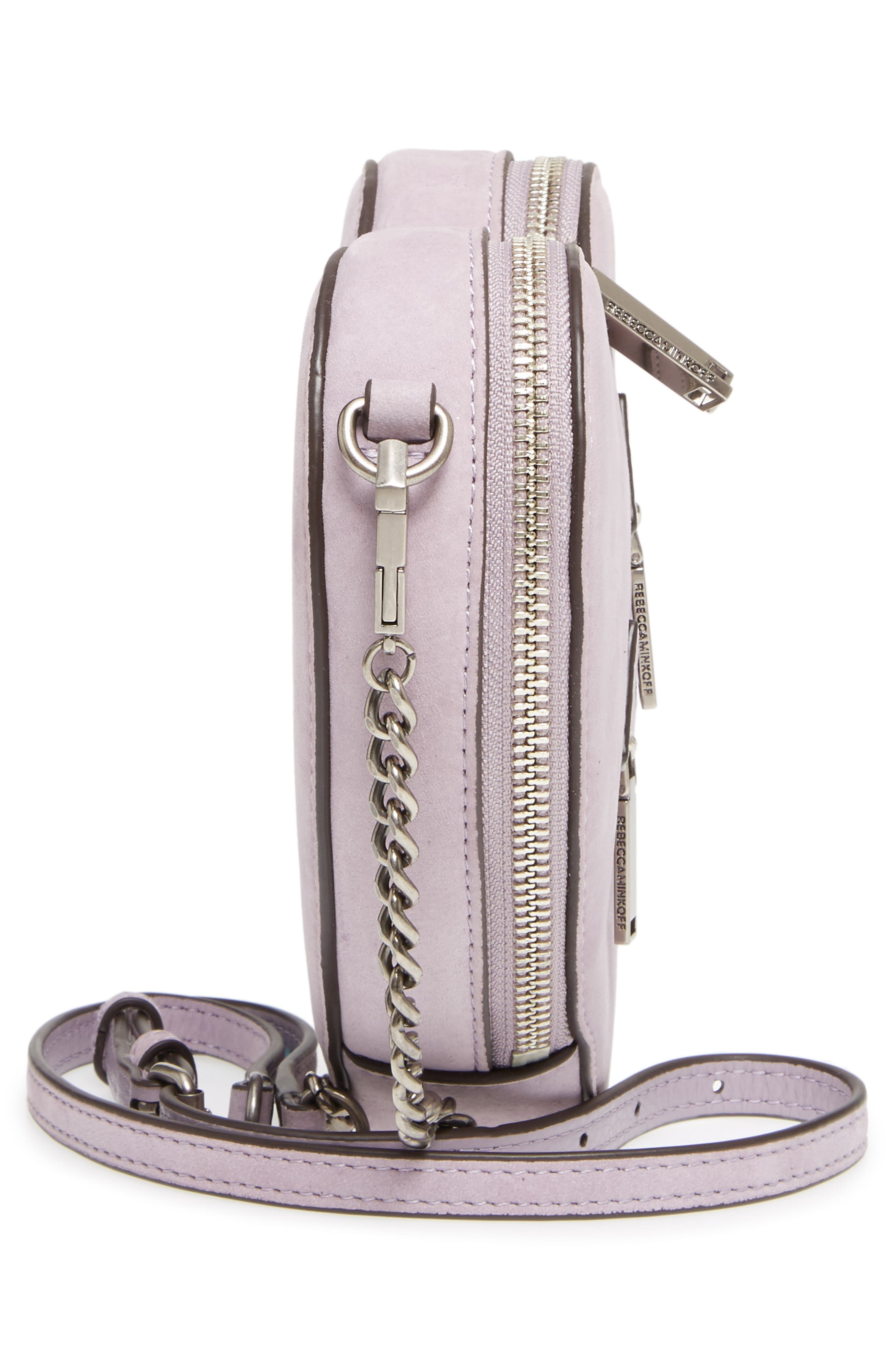 Alternate Image 5  - Rebecca Minkoff Jamie Heart Leather Crossbody Bag