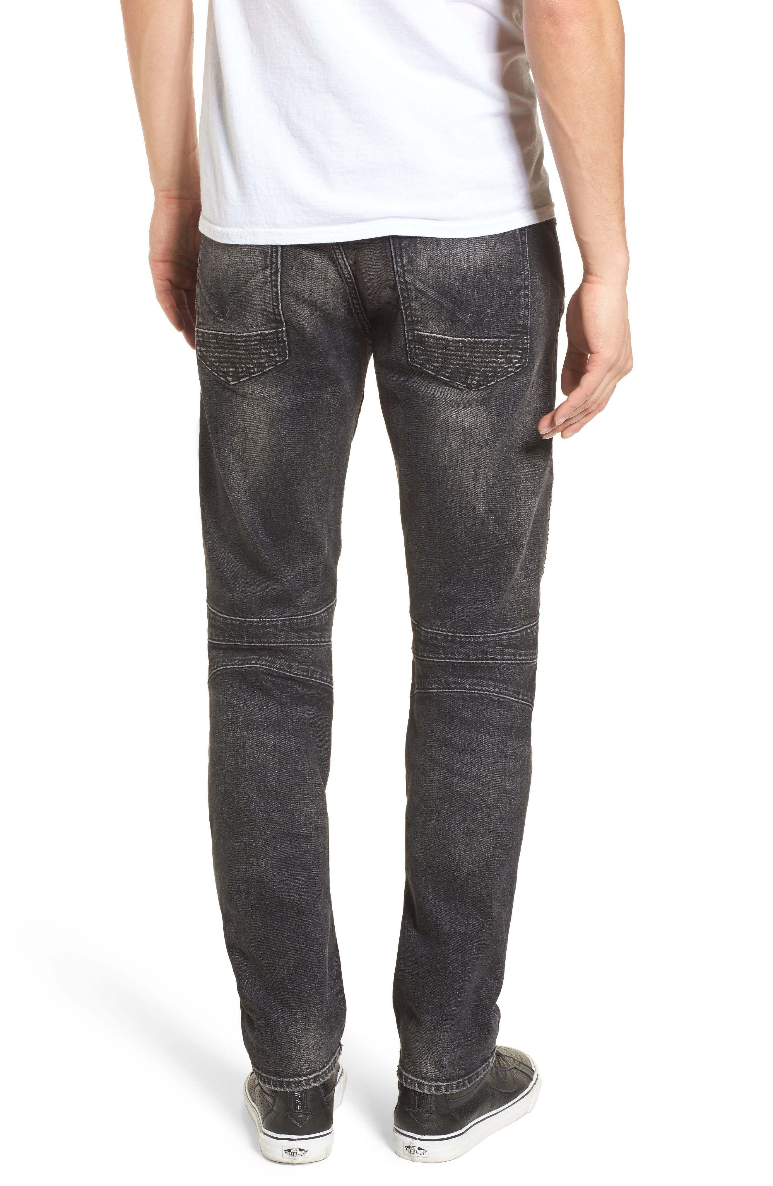 Blinder Biker Skinny Fit Jeans,                             Alternate thumbnail 2, color,                             Hacker