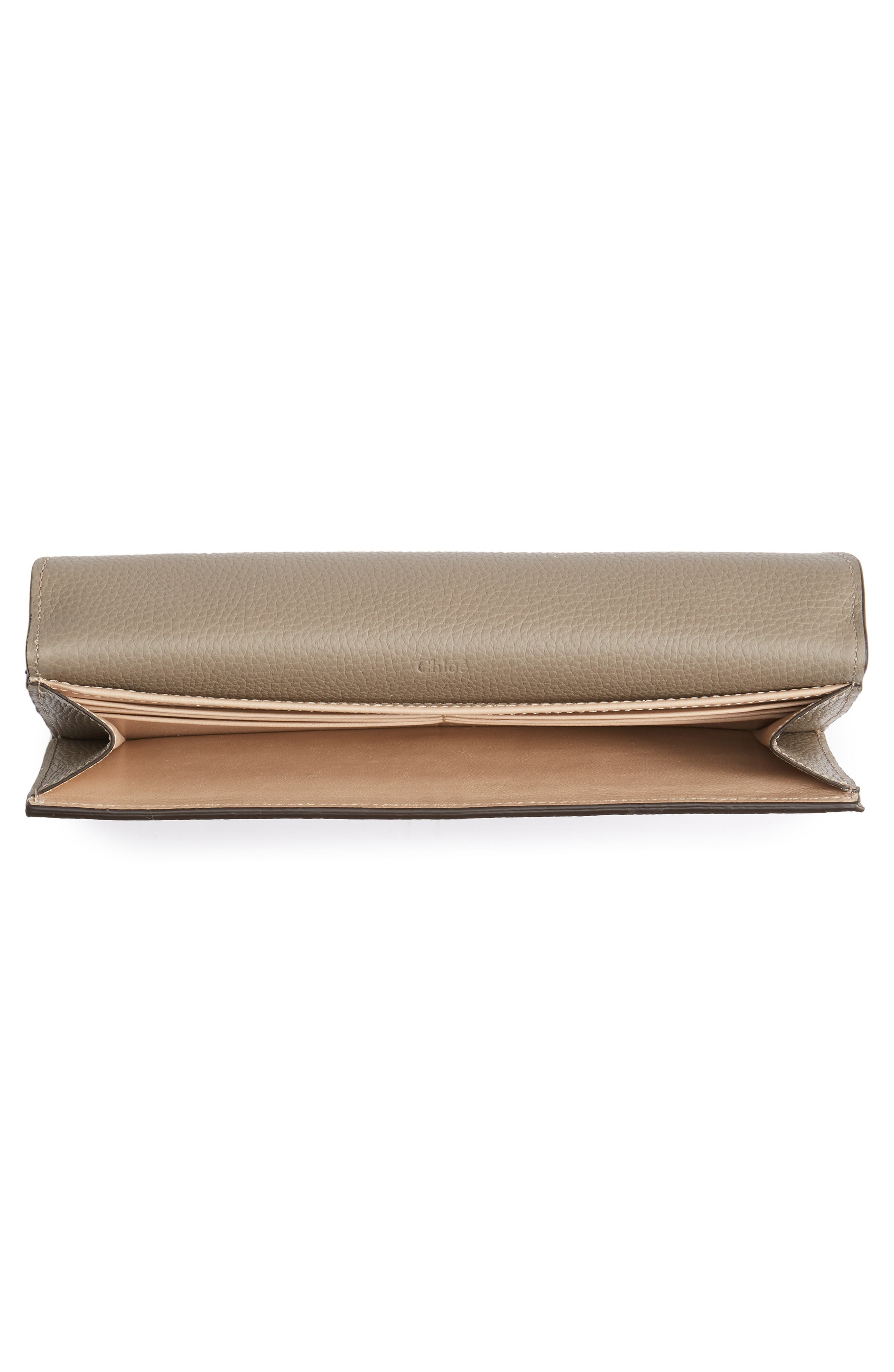 Alternate Image 2  - Chloé Georgia Continental Leather Wallet