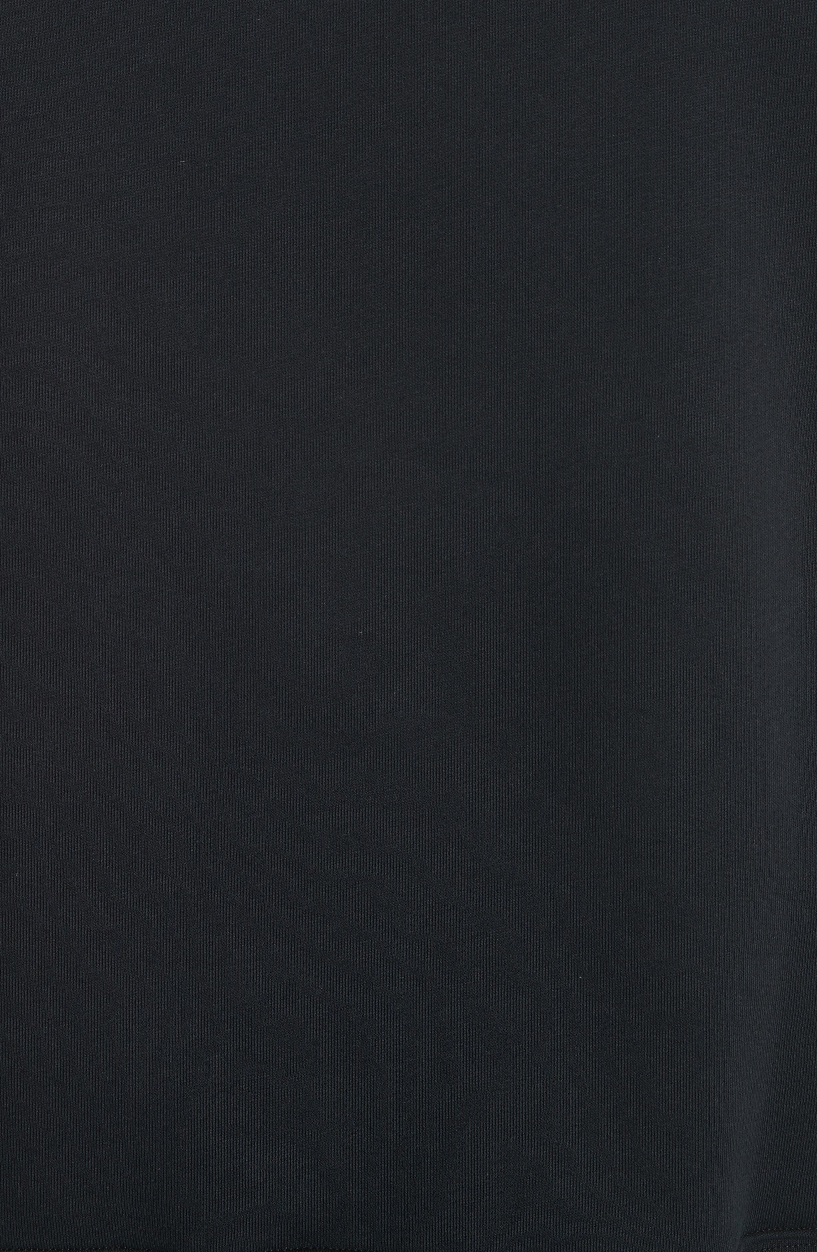 Fairview Face Crewneck Sweatshirt,                             Alternate thumbnail 5, color,                             Black