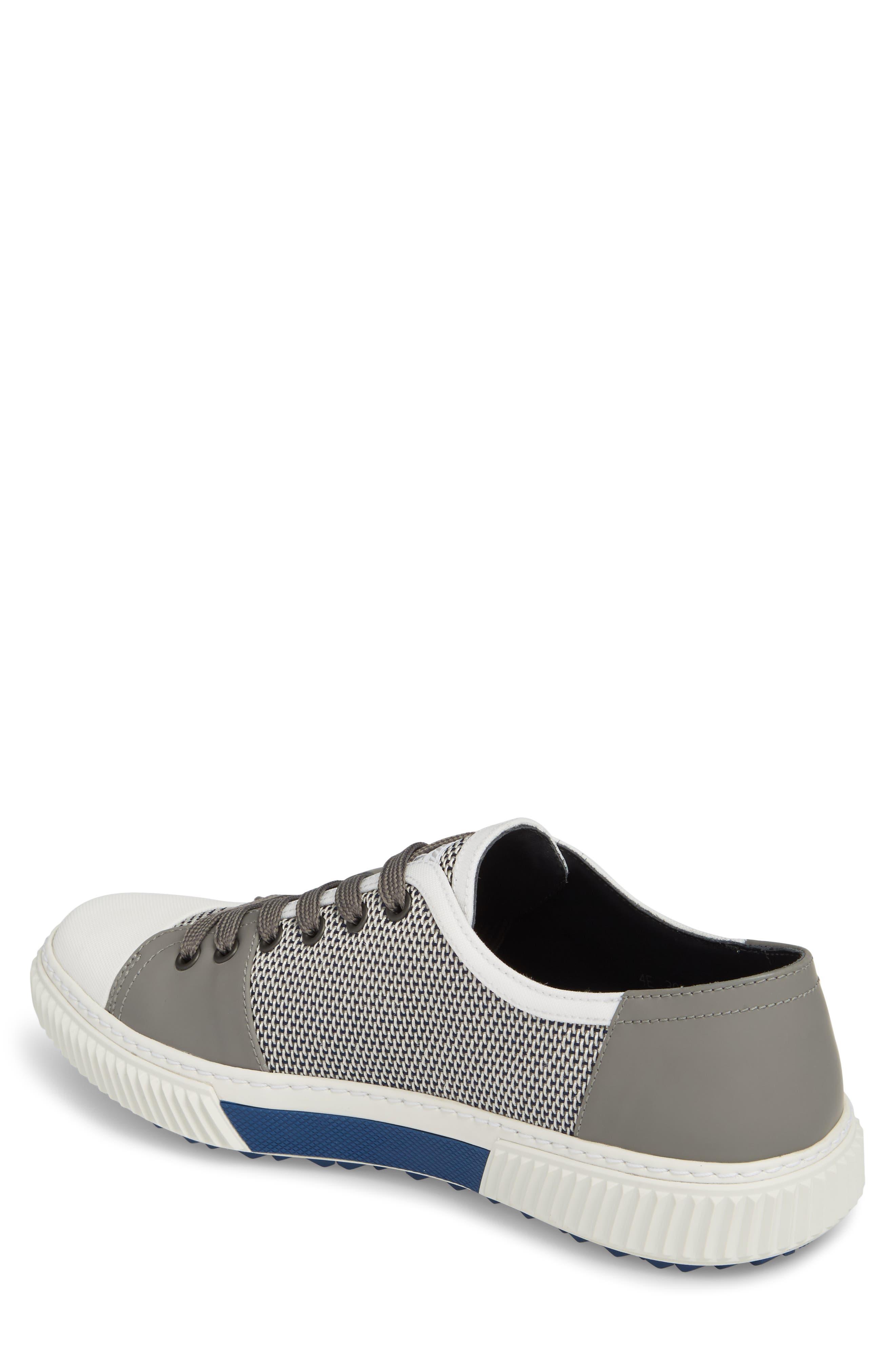 Linea Rossa Low-Top Sneaker,                             Alternate thumbnail 2, color,                             Baltic White