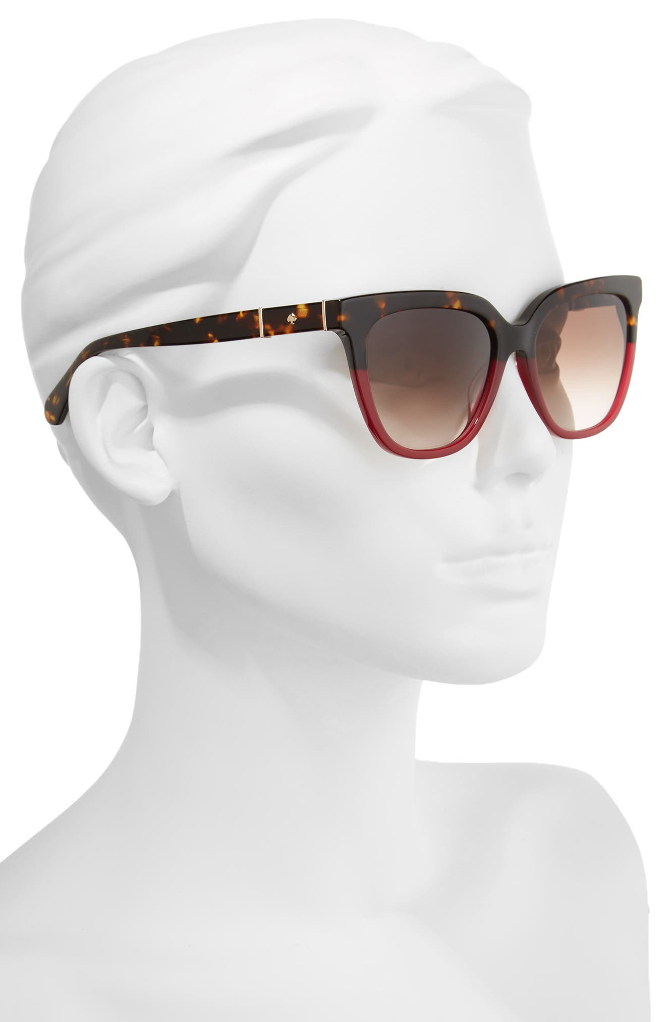 Alternate Image 3  - kate spade new york kahli 53mm cat eye sunglasses