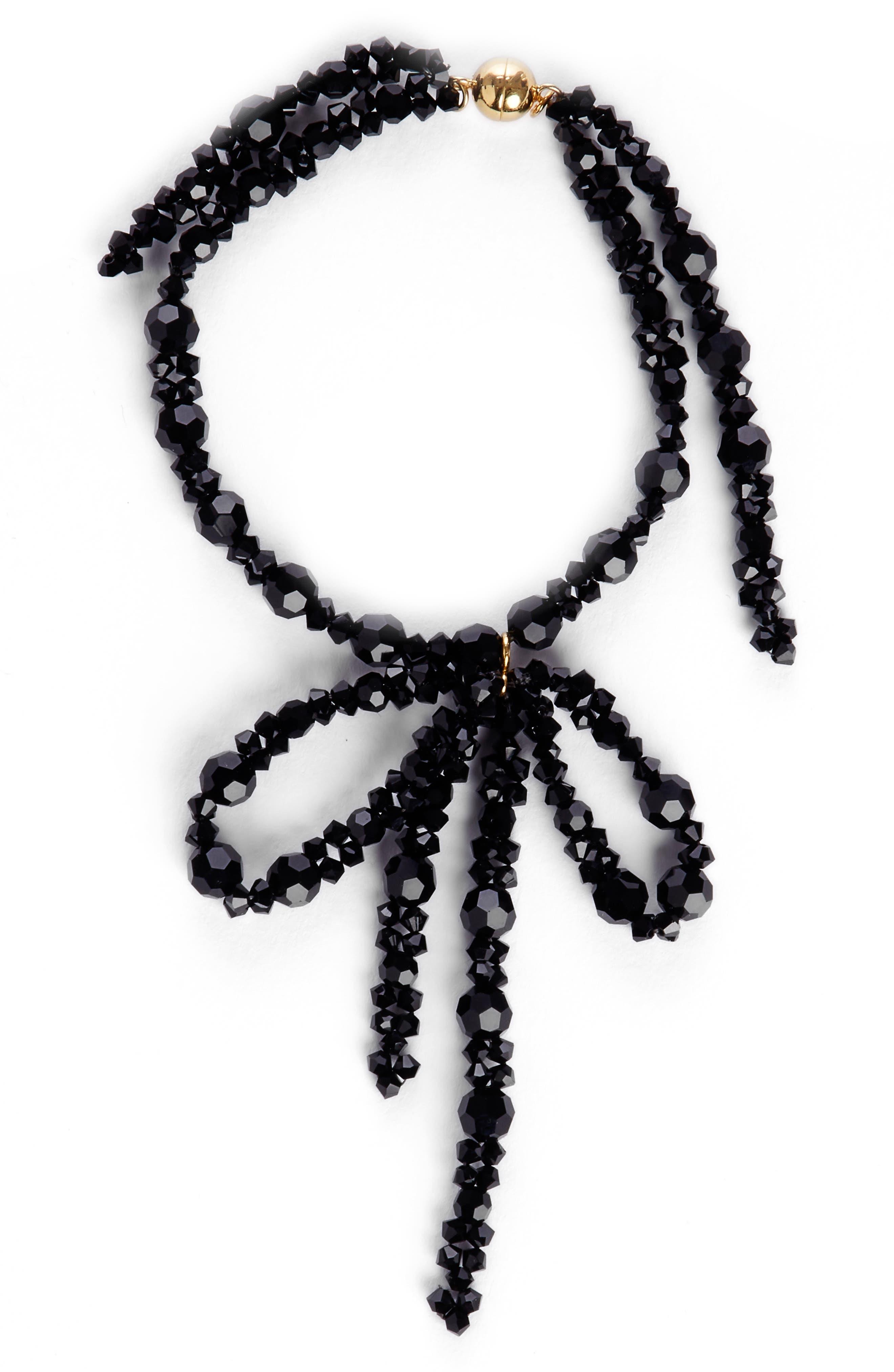 Simone Rocha Beaded Bow Bracelet