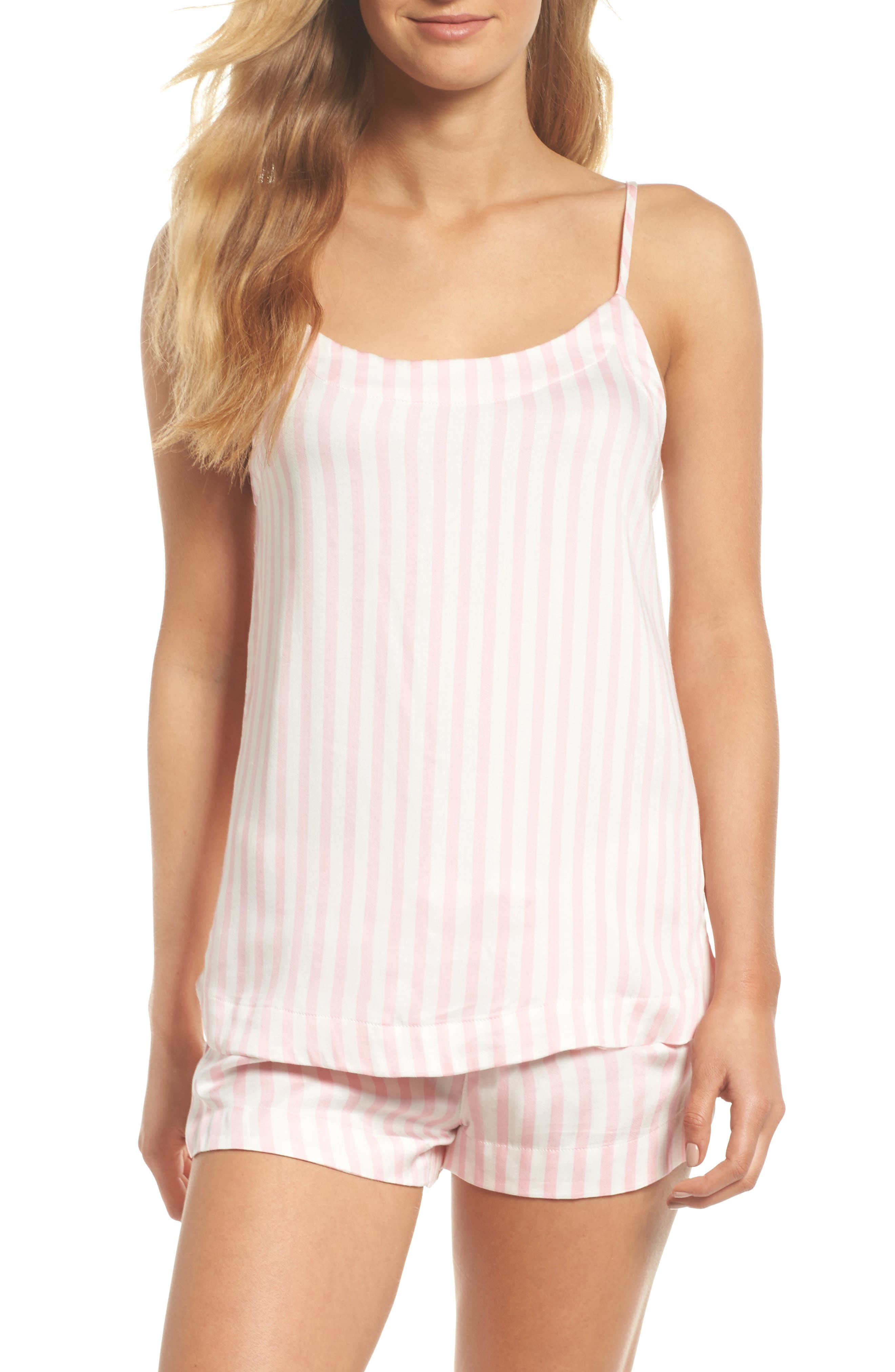 Short Pajamas,                         Main,                         color, Pink