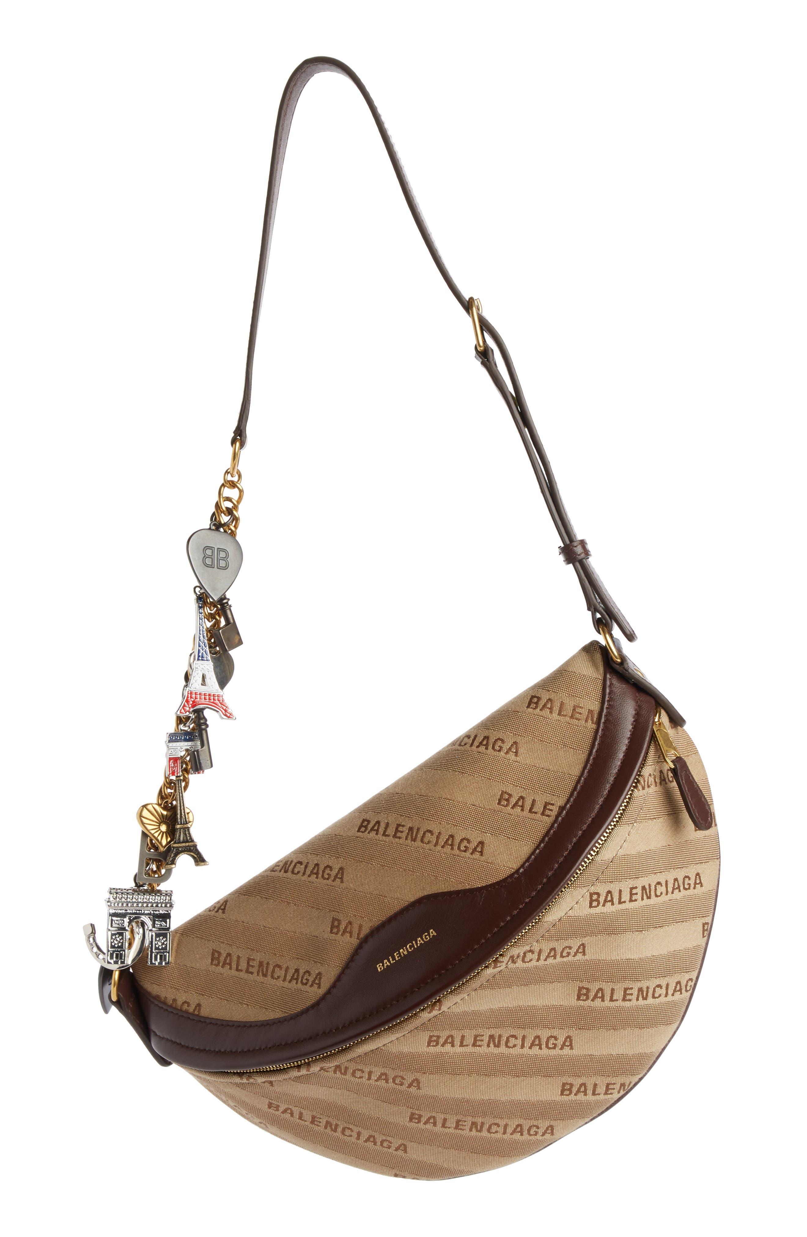 Balenciaga Extra Small Souvenir Logo Belt Bag