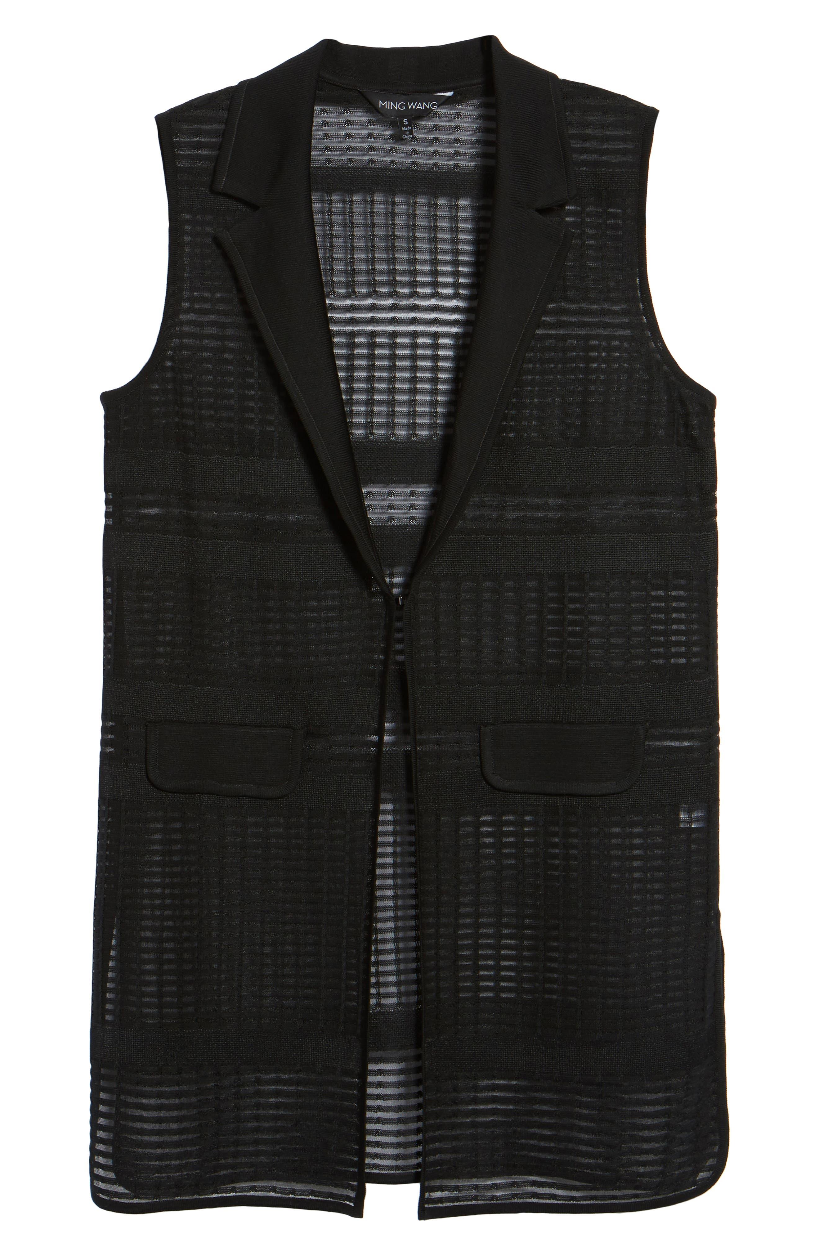Alternate Image 6  - Mng Wang Long Geo Jacquard Vest
