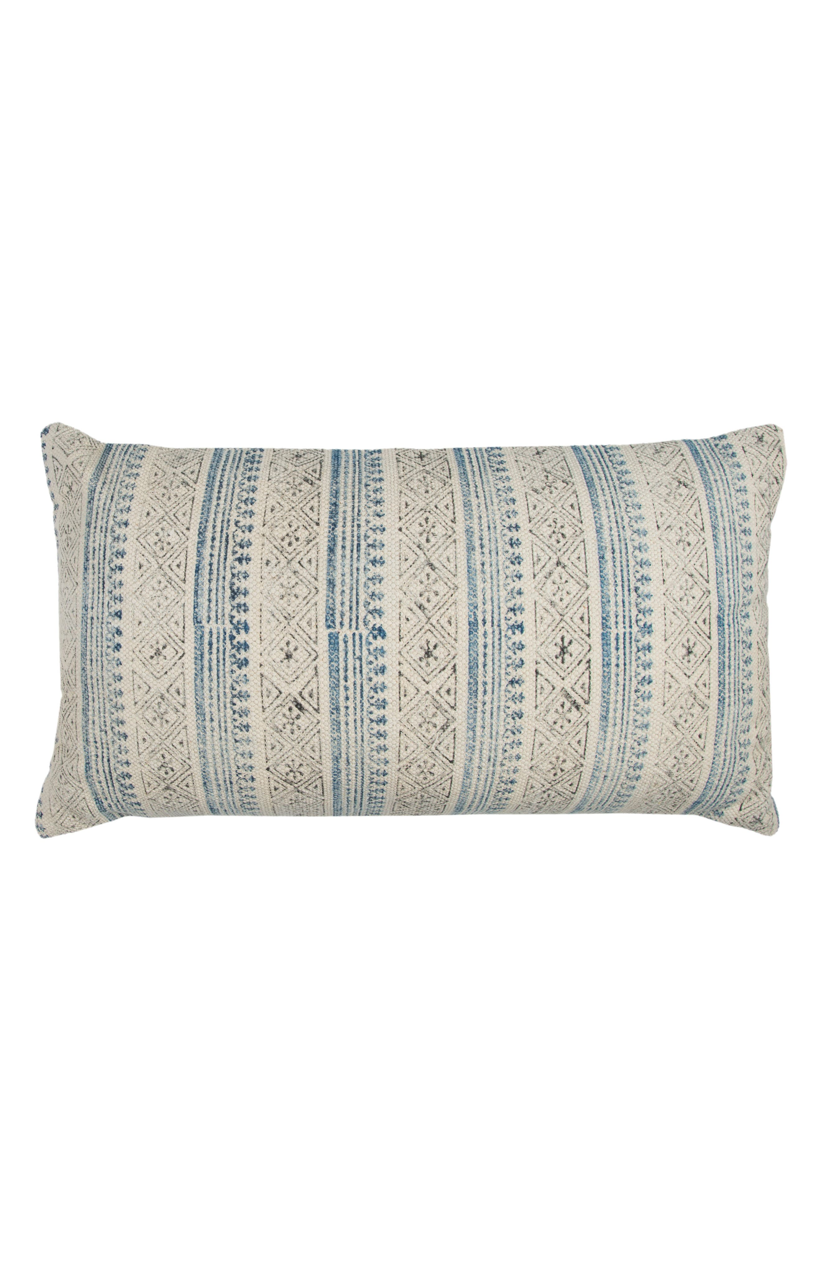 Stripe Accent Pillow,                         Main,                         color, Natural