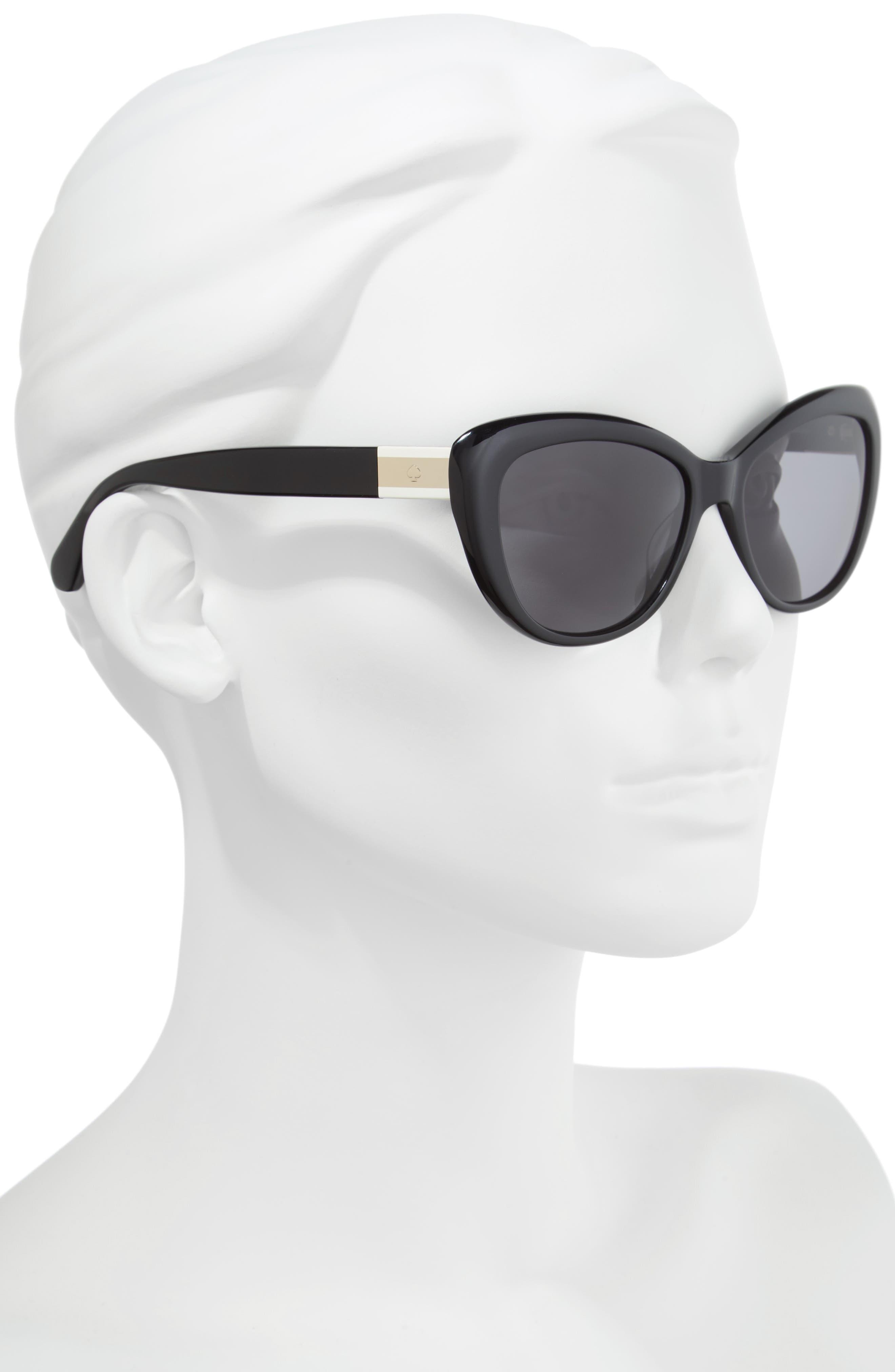 Alternate Image 2  - kate spade new york emmalynn 54mm polarized cat eye sunglasses