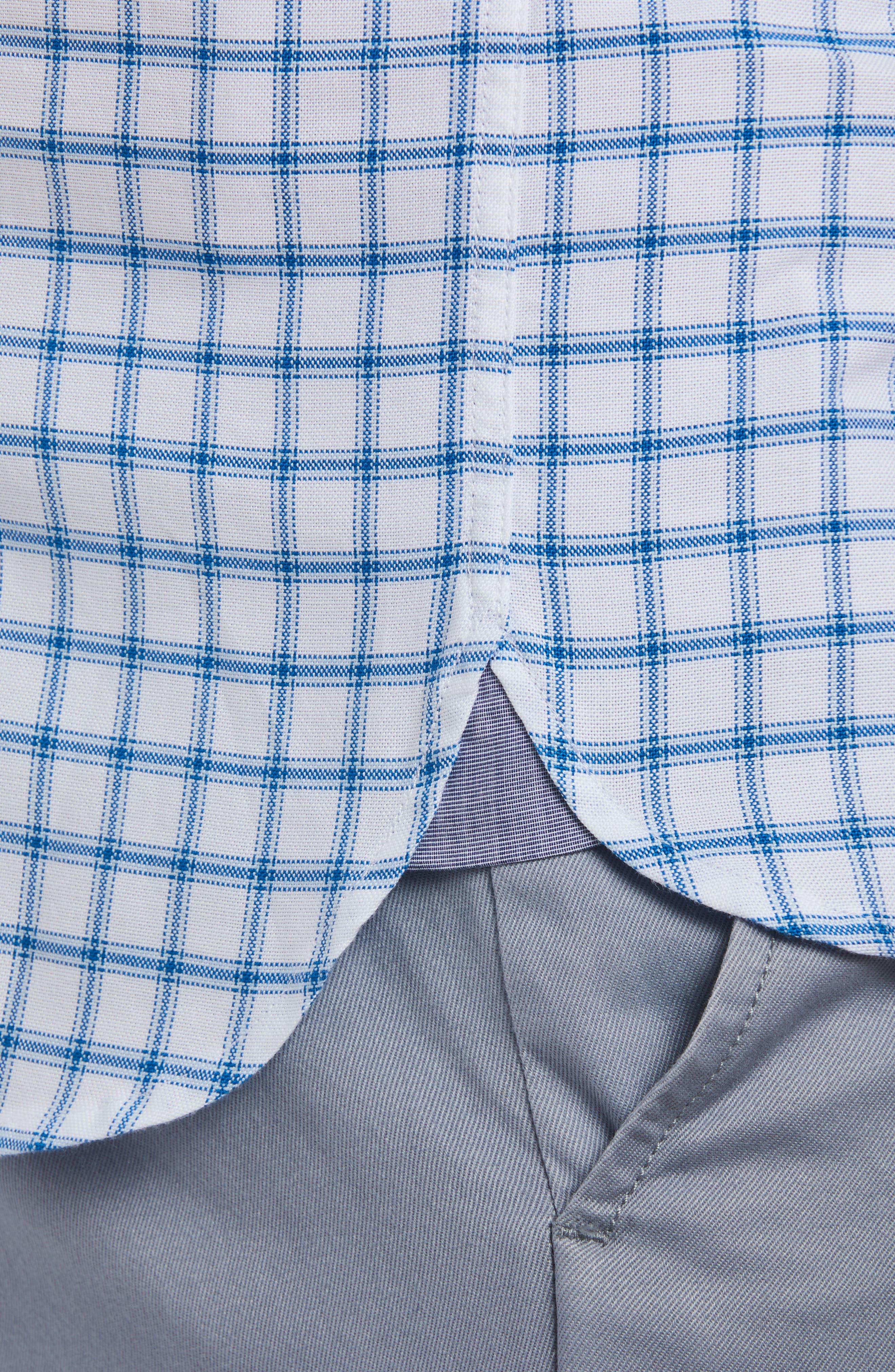 Alternate Image 2  - Lacoste Slim Fit Grid Cotton Sport Shirt