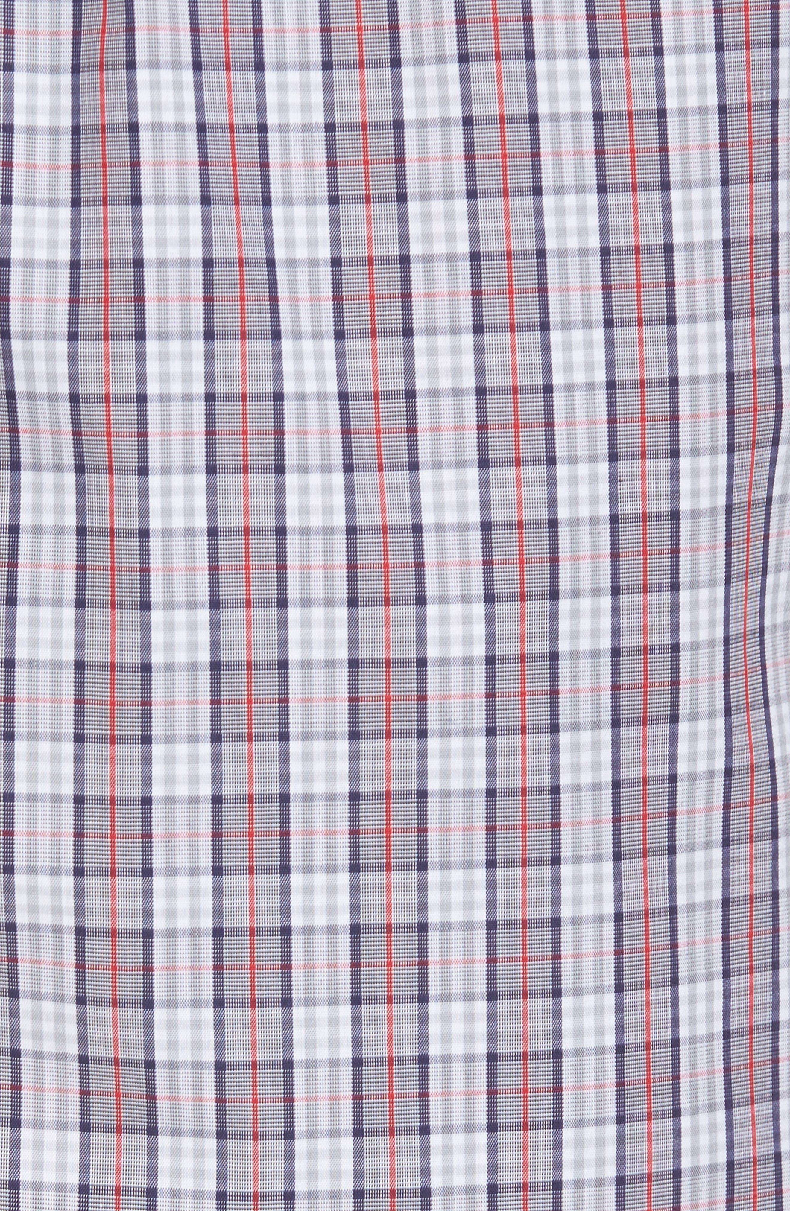 Night & Day Woven Lounge Pants,                             Alternate thumbnail 5, color,                             Red Karo