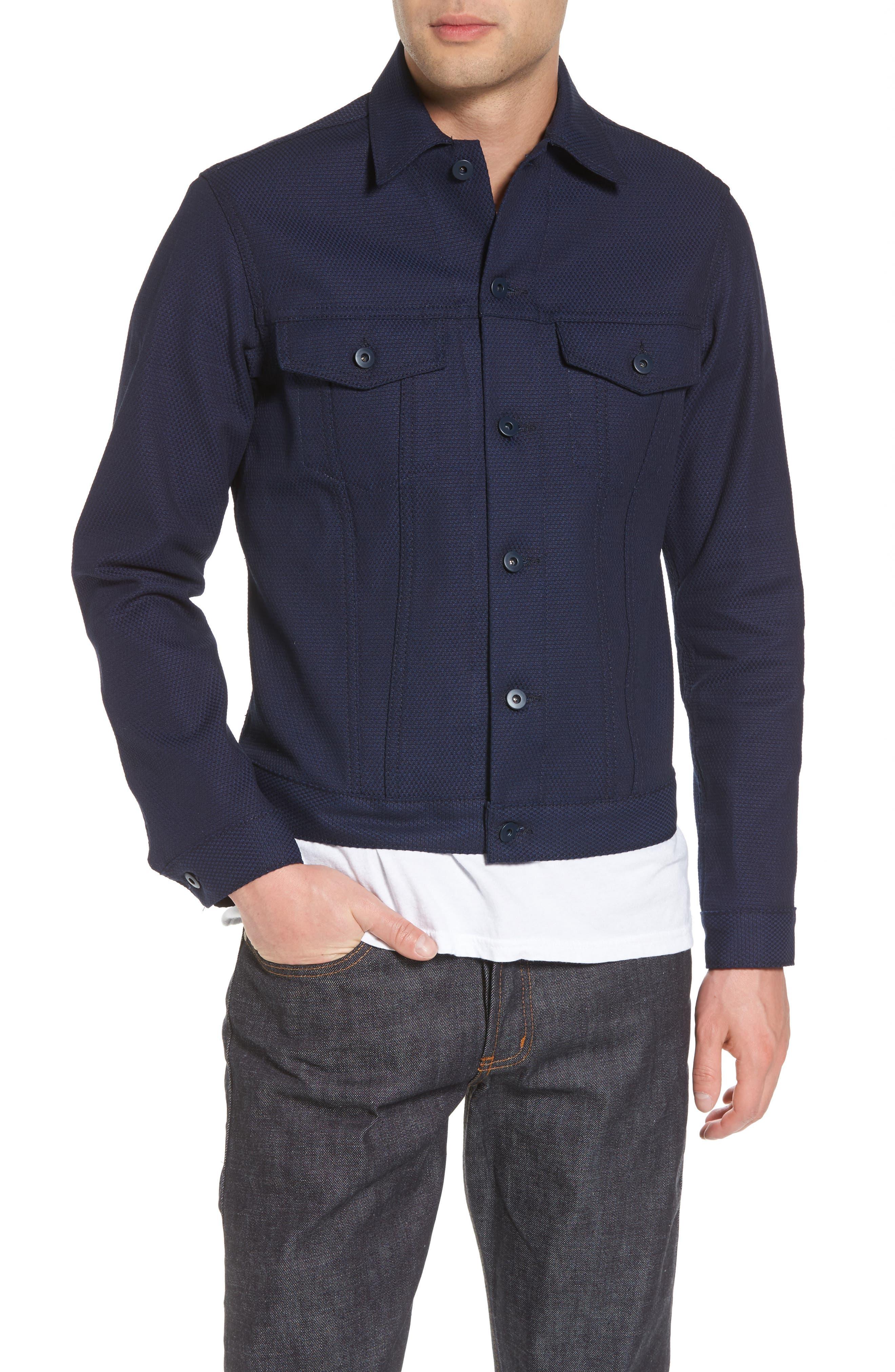 Jean Jacket,                         Main,                         color, Indigo