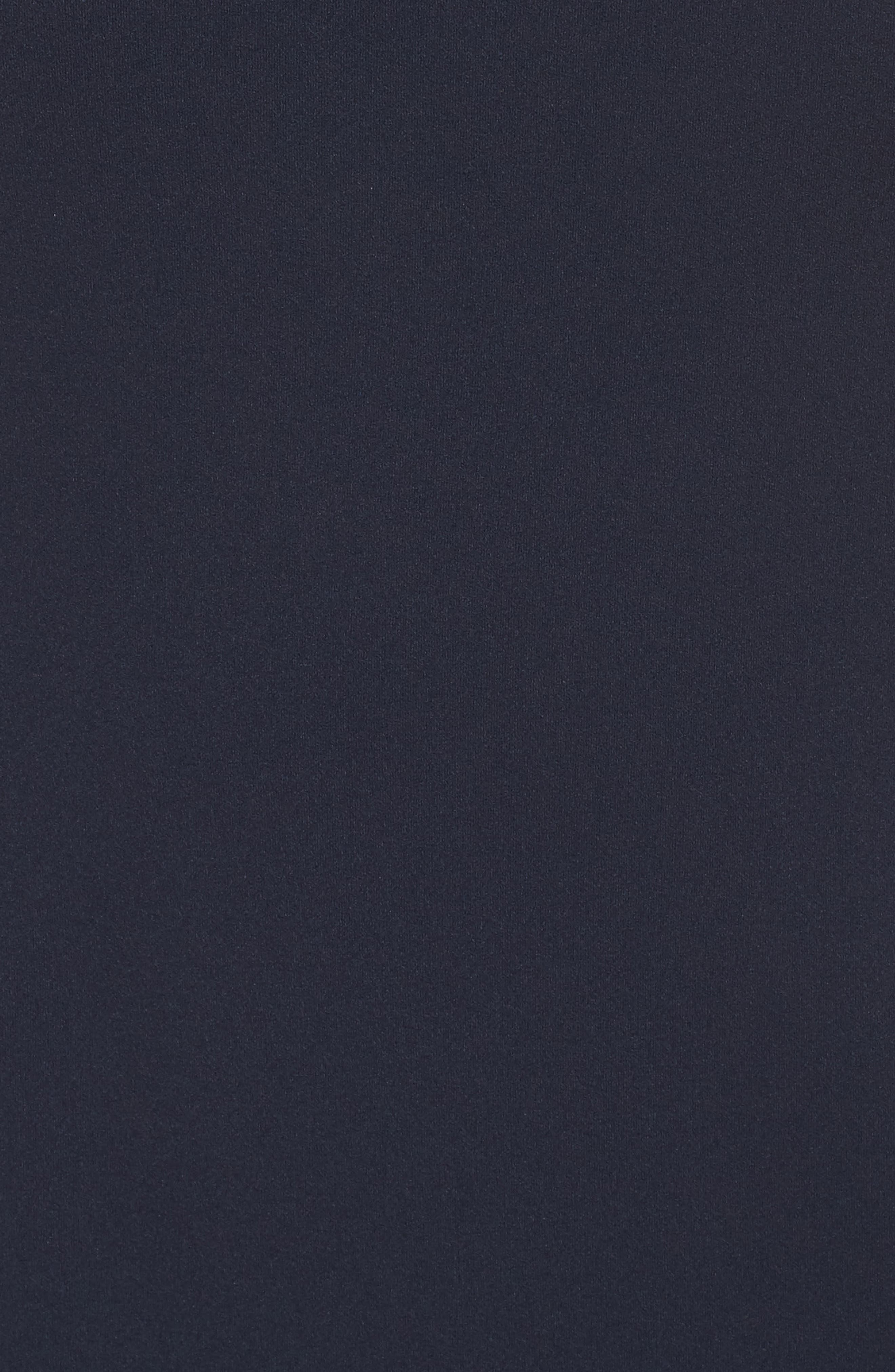 Crepe Flounce Dress,                             Alternate thumbnail 5, color,                             Blue Moon