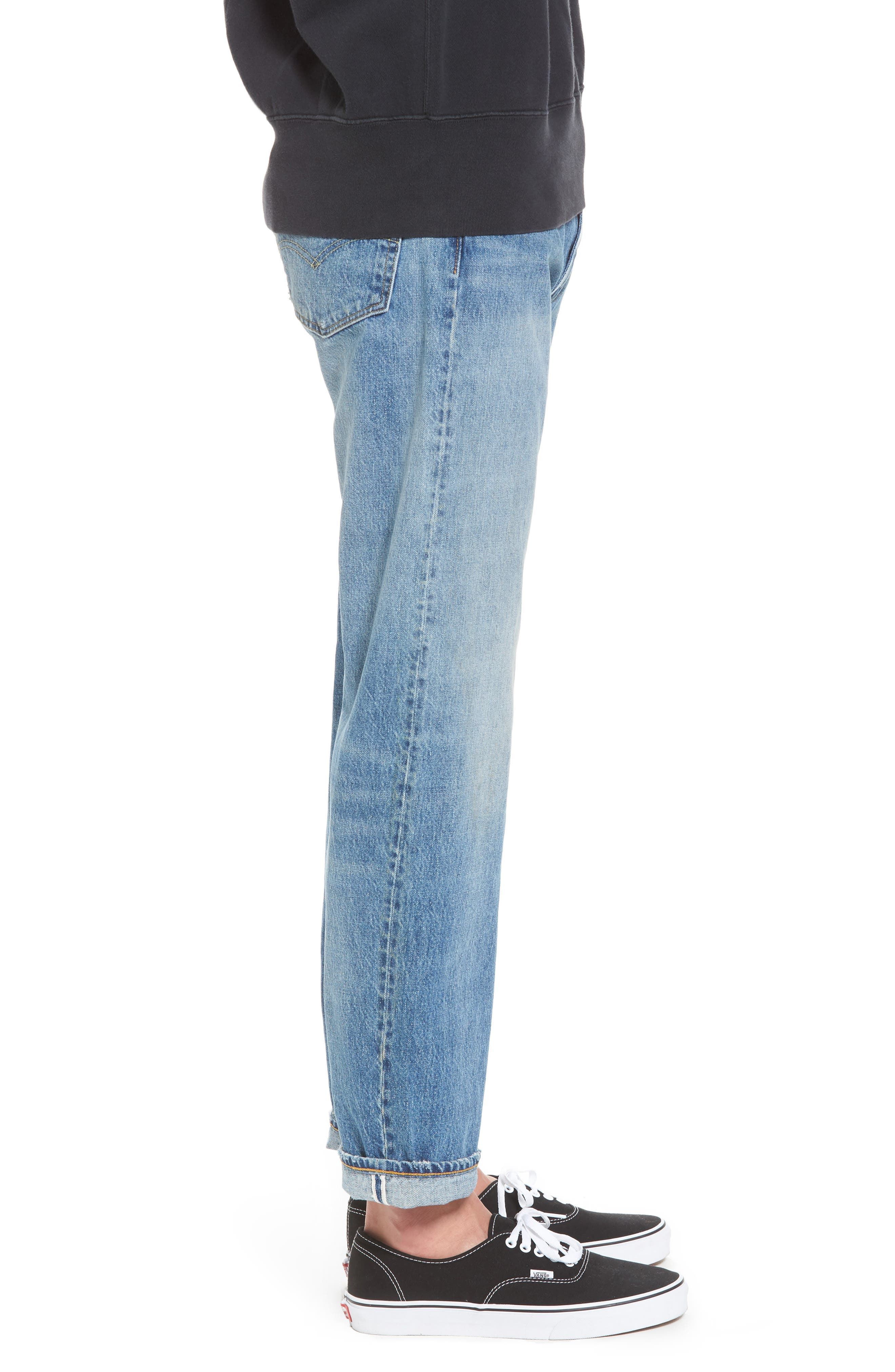 1954 501<sup>®</sup> Tapered Leg Jeans,                             Alternate thumbnail 3, color,                             Baja Surf