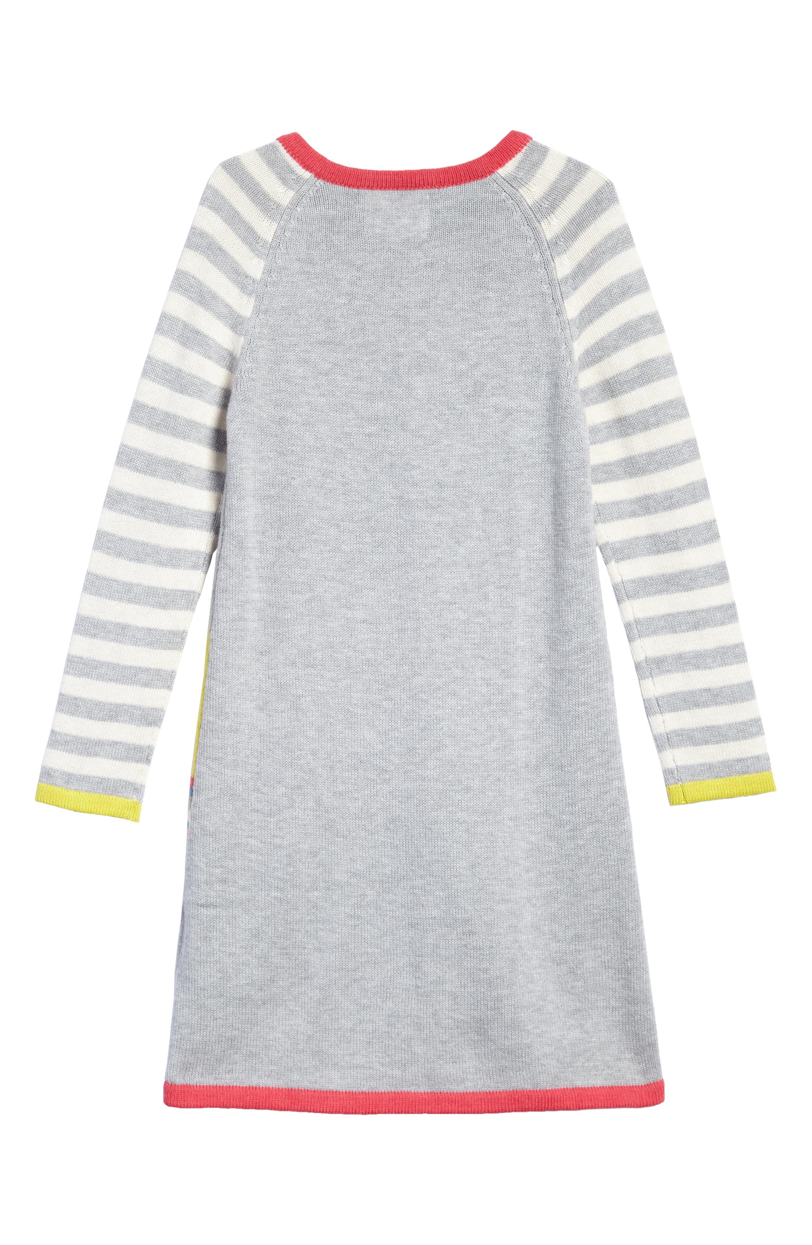 Alternate Image 2  - Mini Boden Fun Knit Dress (Toddler Girls, Little Girls & Big Girls)