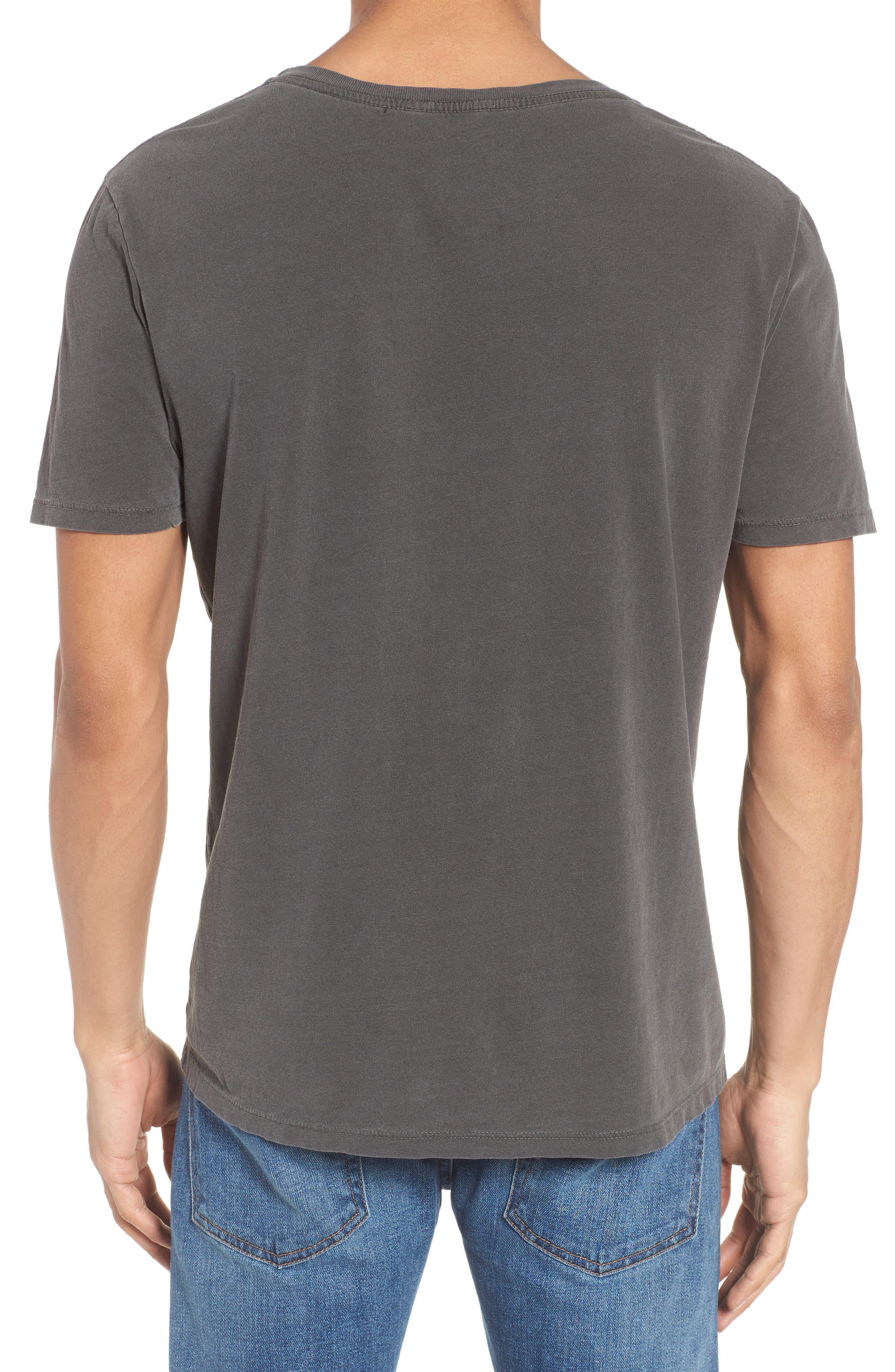 Melrose Place Vintage Graphic T-Shirt,                             Alternate thumbnail 2, color,                             Faded Noir