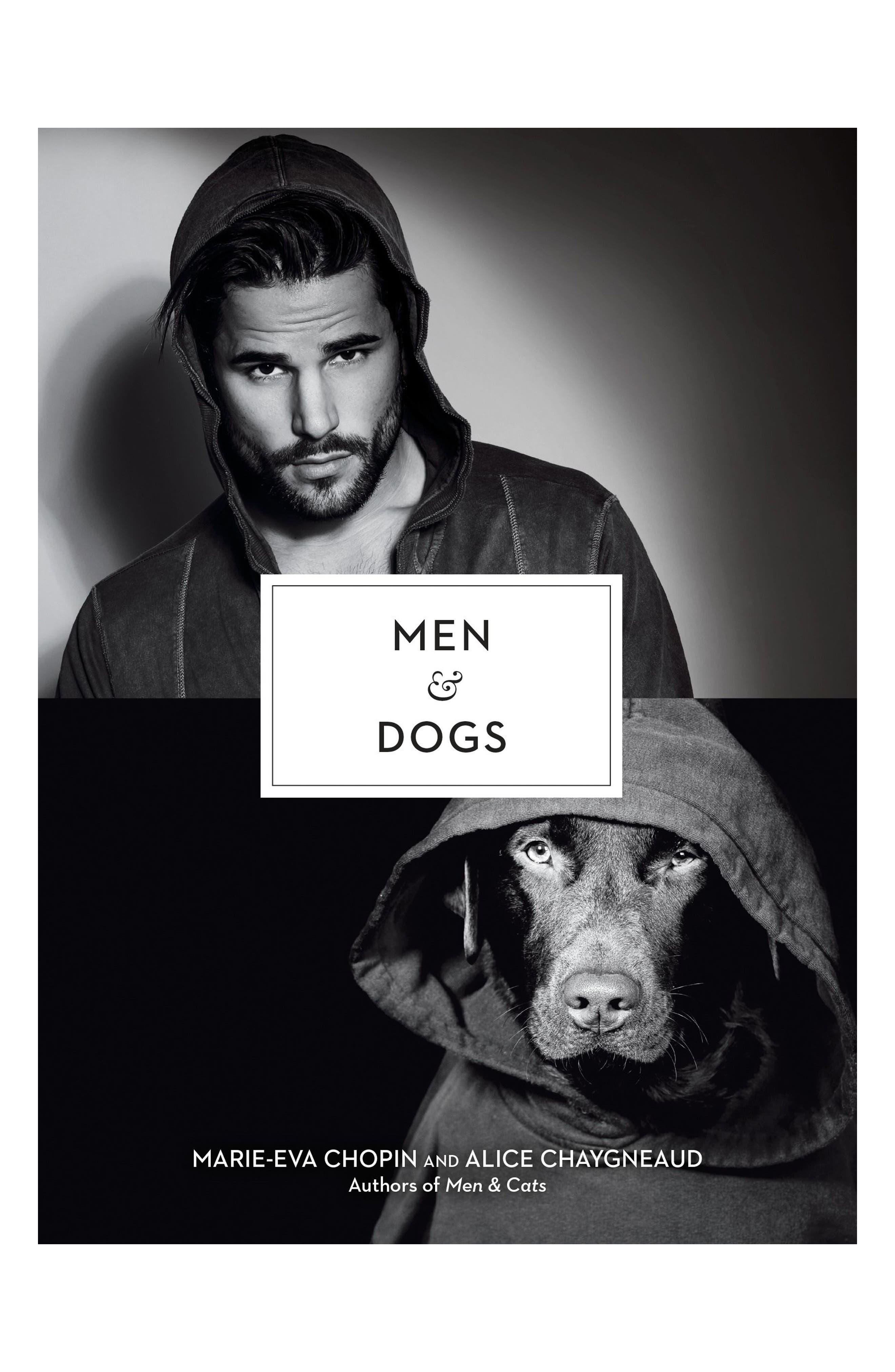 'Men & Dogs' Book,                         Main,                         color, Black