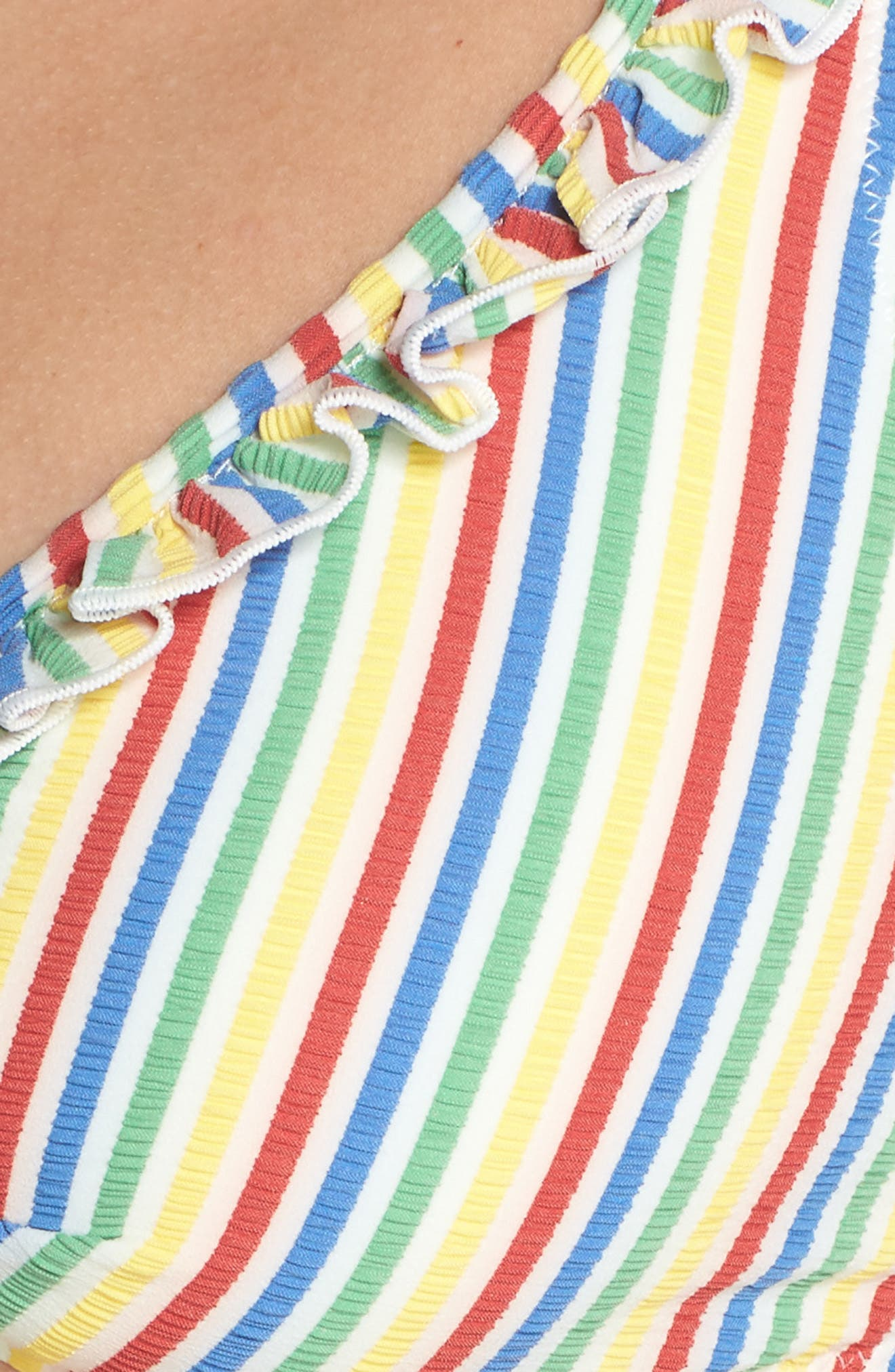 The Milly Bikini Top,                             Alternate thumbnail 8, color,                             Yellow/ Red Multi